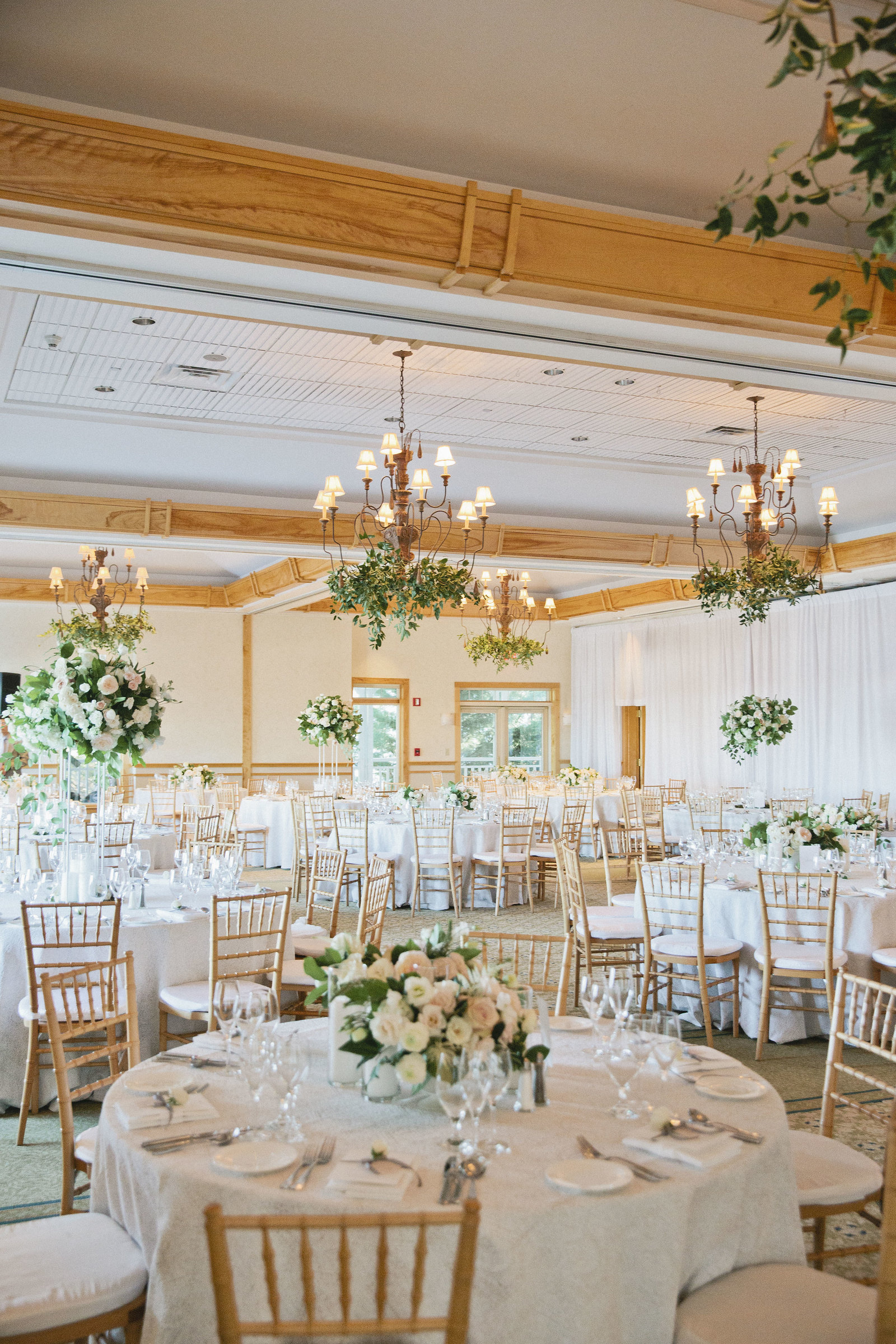 The Bachelor Whitney Bischoff's Wedding Reception by luxury event planner Always Yours Events at Wequassett Resort