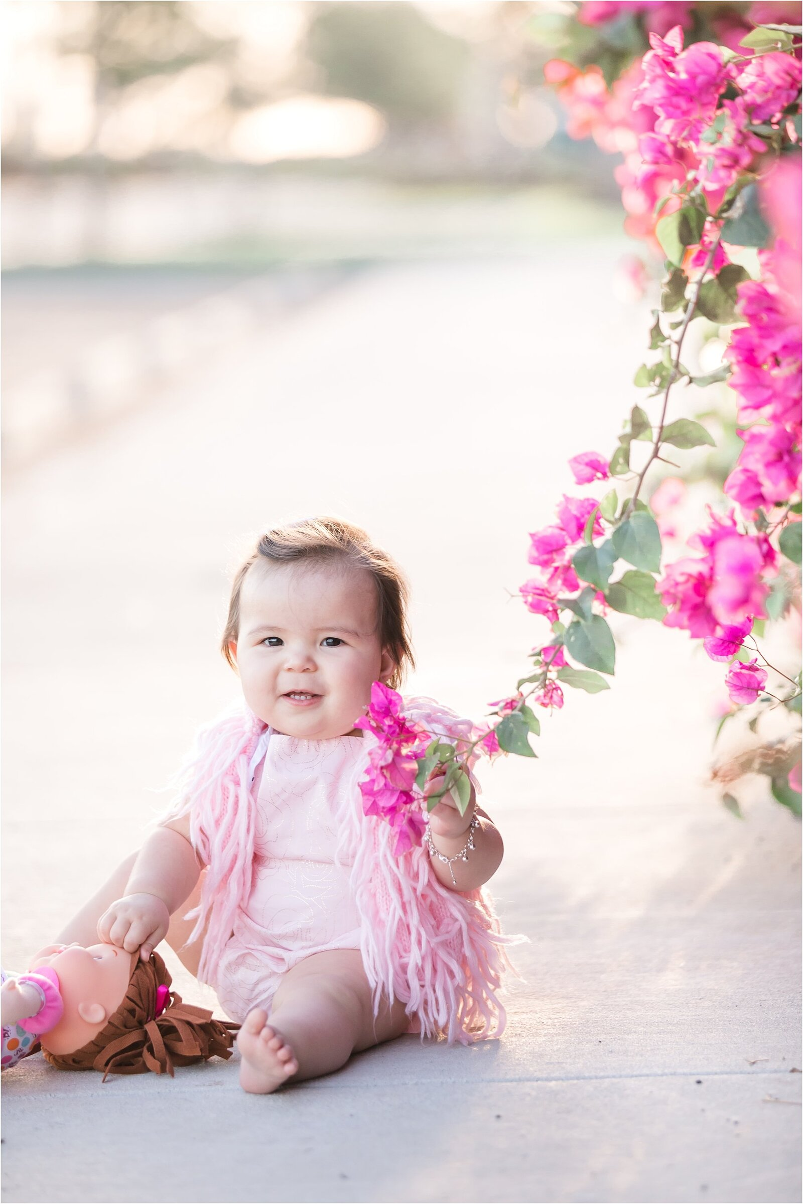 first birthday photoshoot at kissimmee lakefront park