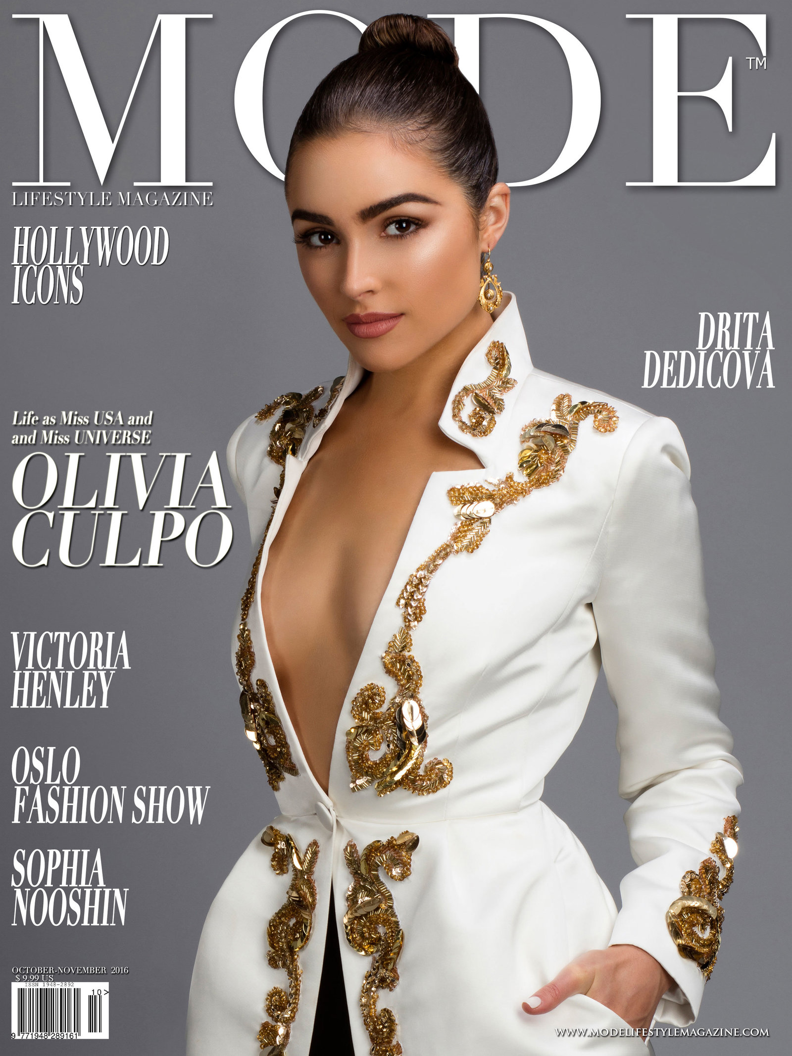 Mode - Olivia Culpo by Terry Check Cover web
