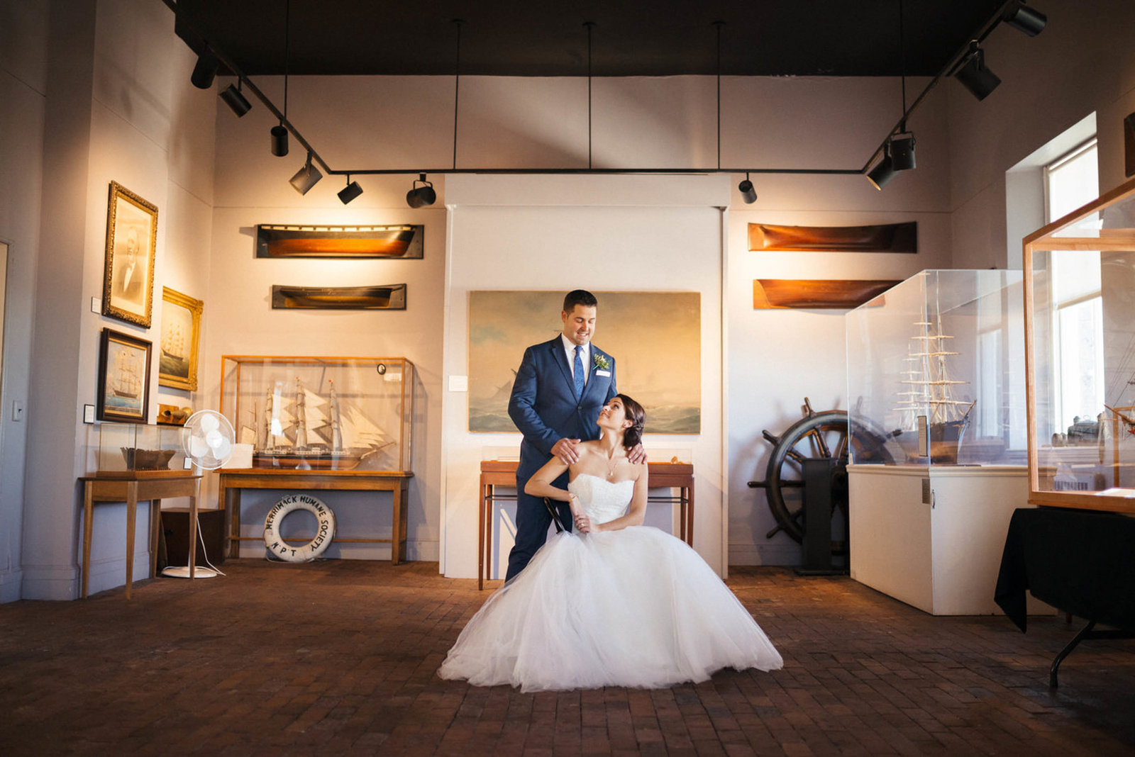 Boston-Wedding-Photographer-Newburyport-Custom-House-Maritime-Museum-23