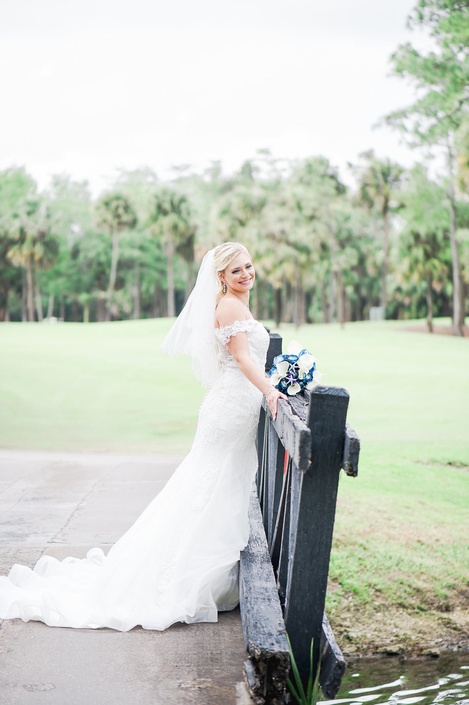 Happy Bride - Myacoo Country Club Wedding - Palm Beach Wedding Photography by Palm Beach Photography, Inc.