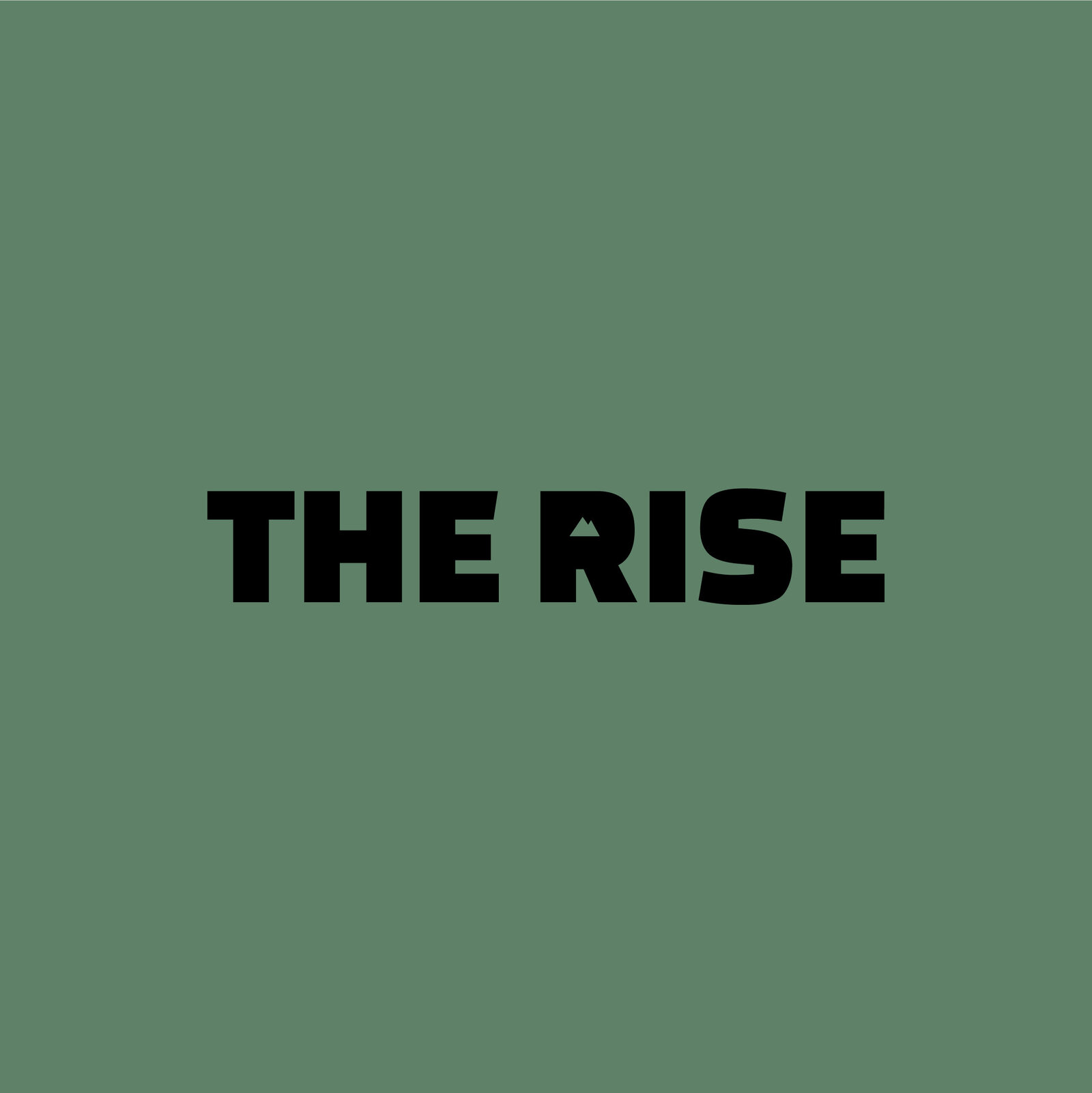 The Rise - Logo_Tetxual_green