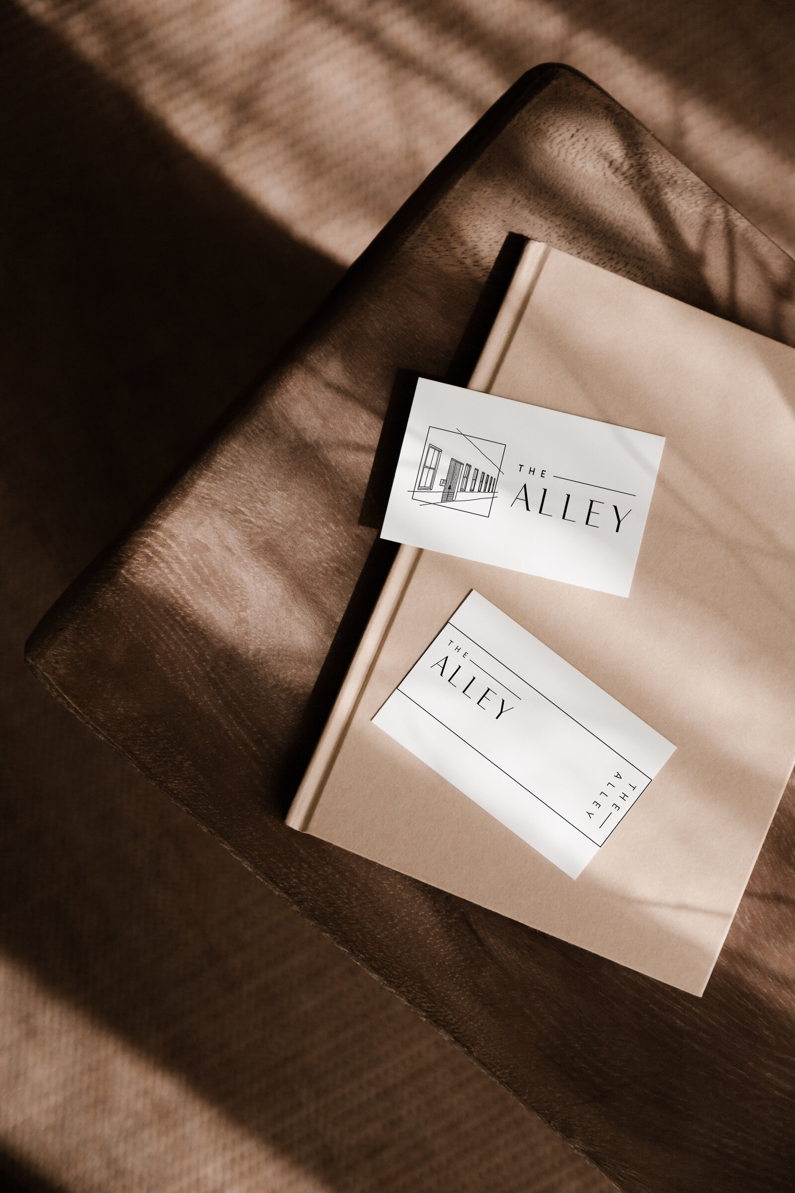 The Alley Branding by Femme Collective
