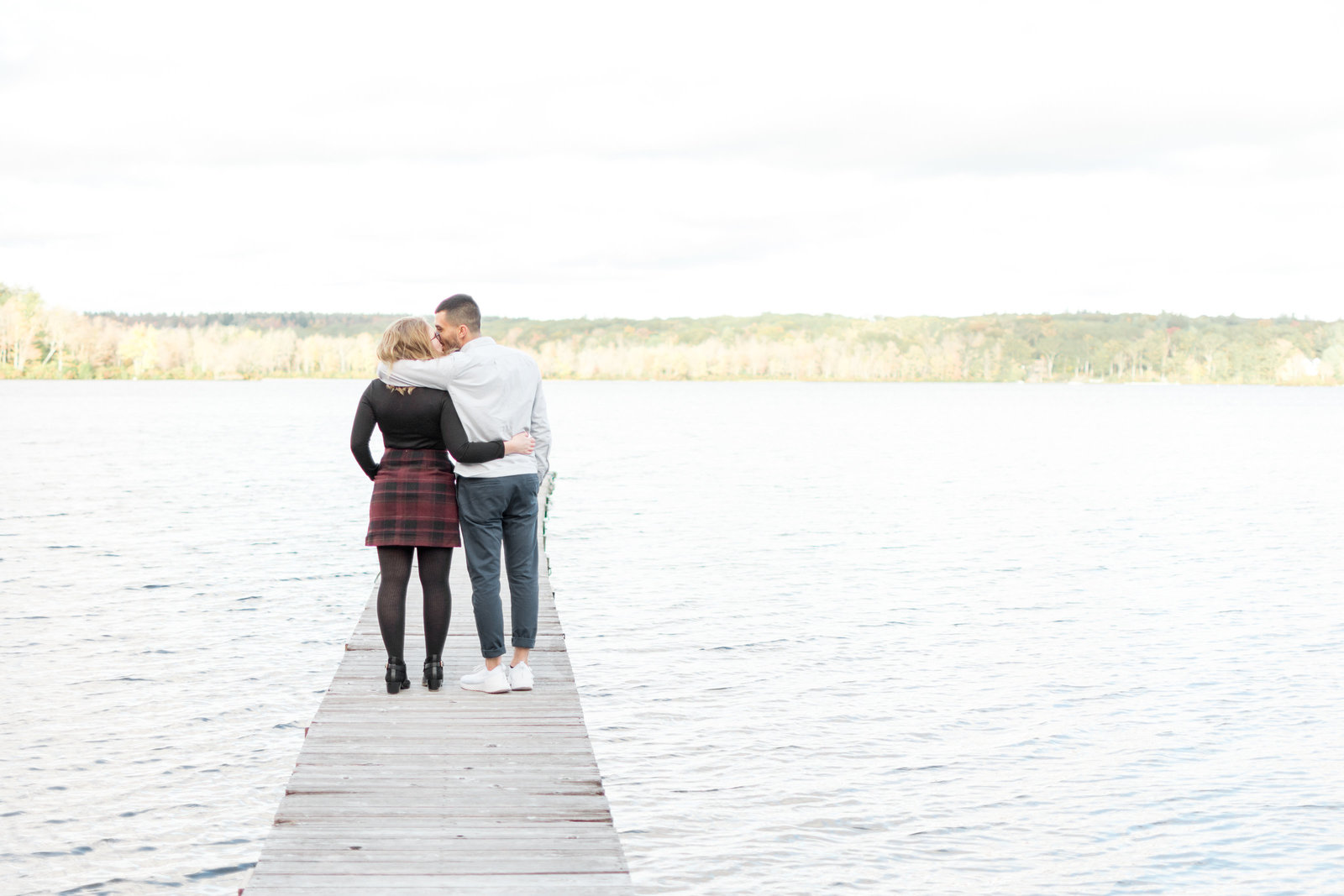 Kissing on a Lake
