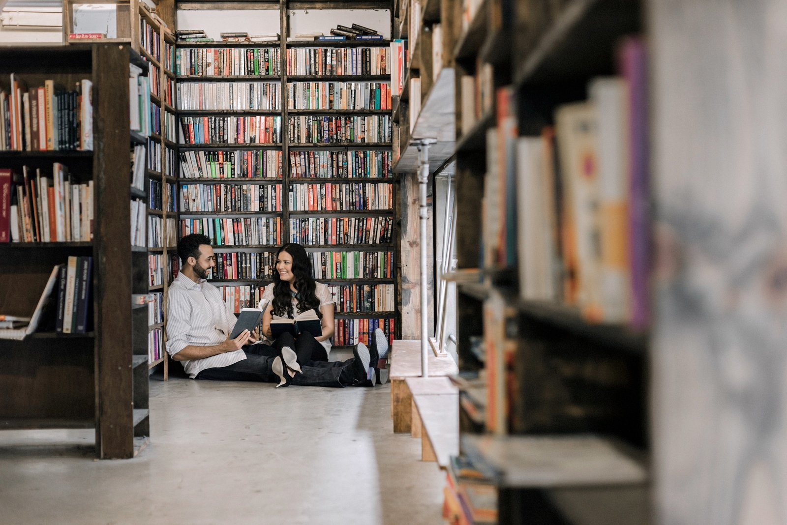 The Last Book Store Engagement