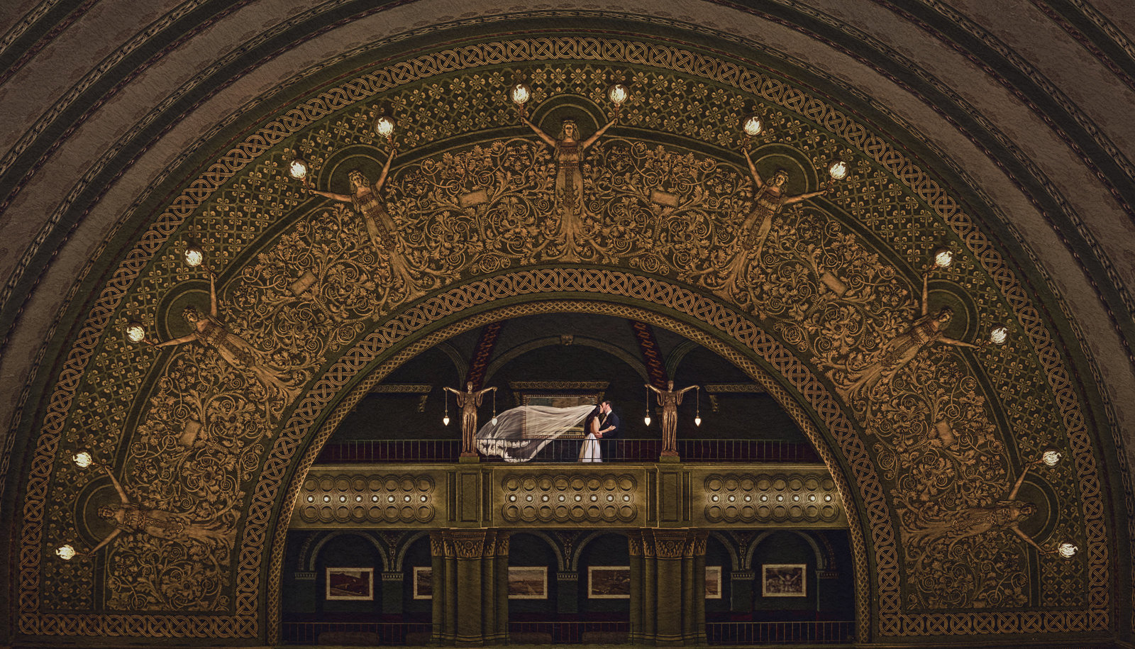 Union Station St. Louis Wedding by Andrew Joseph