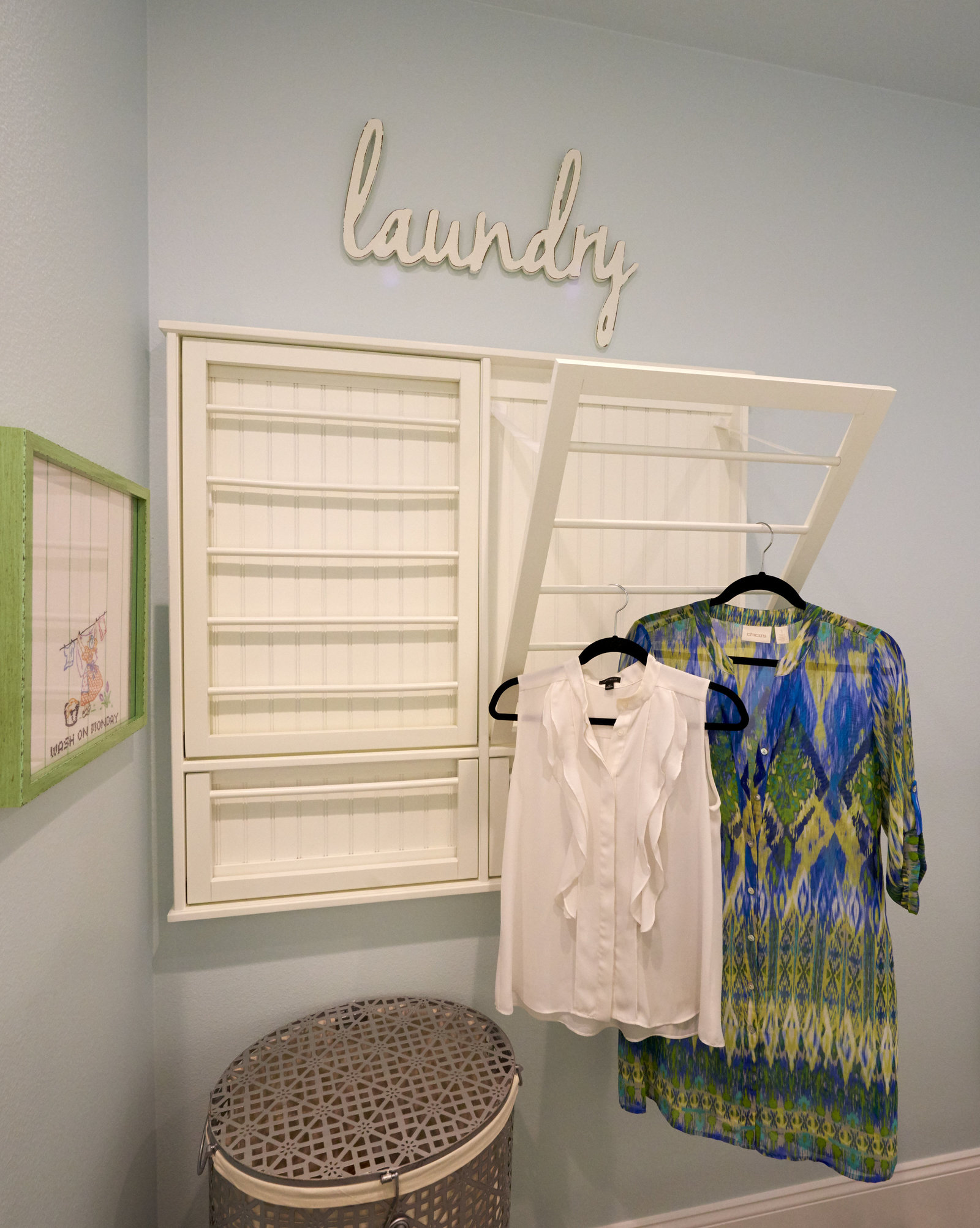 Beach House Laundry Interior Design