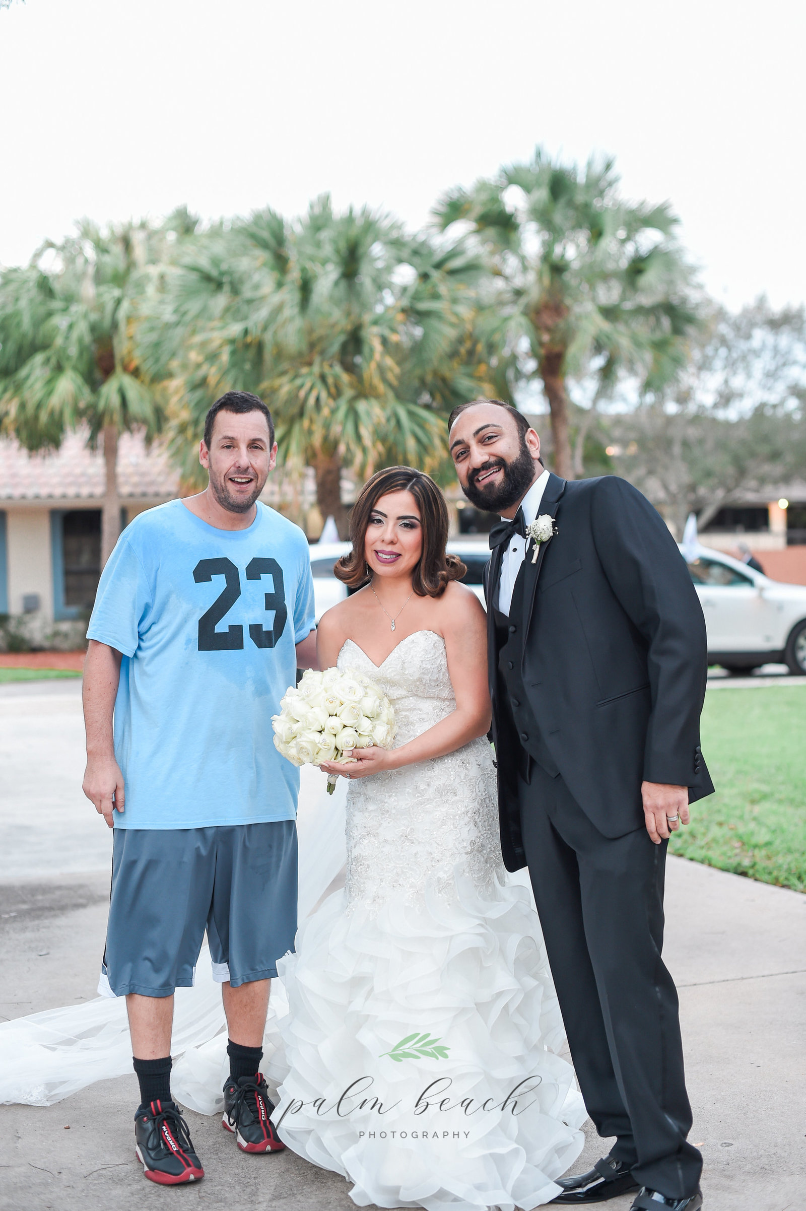 Adam Sandler Viral Wedding Photo