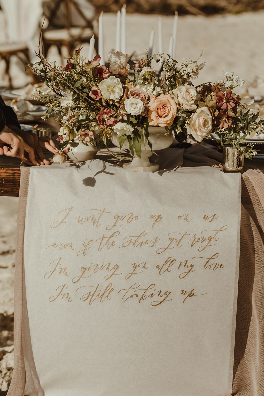 Celestial wedding inspiration_ beach elopement style-55