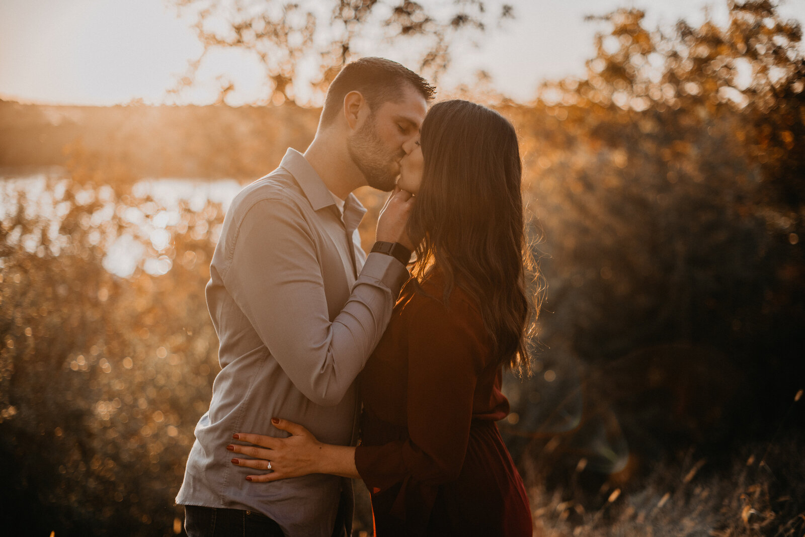 goldenhour_autumn_engagement