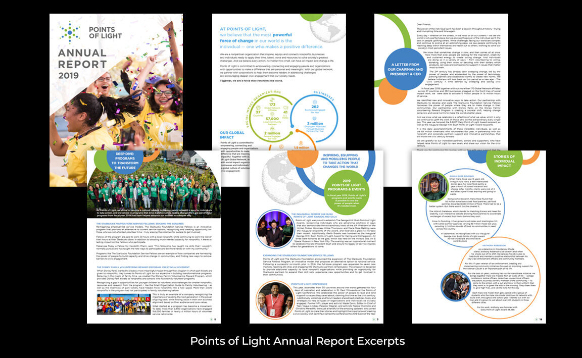 Points of Light Annual Report