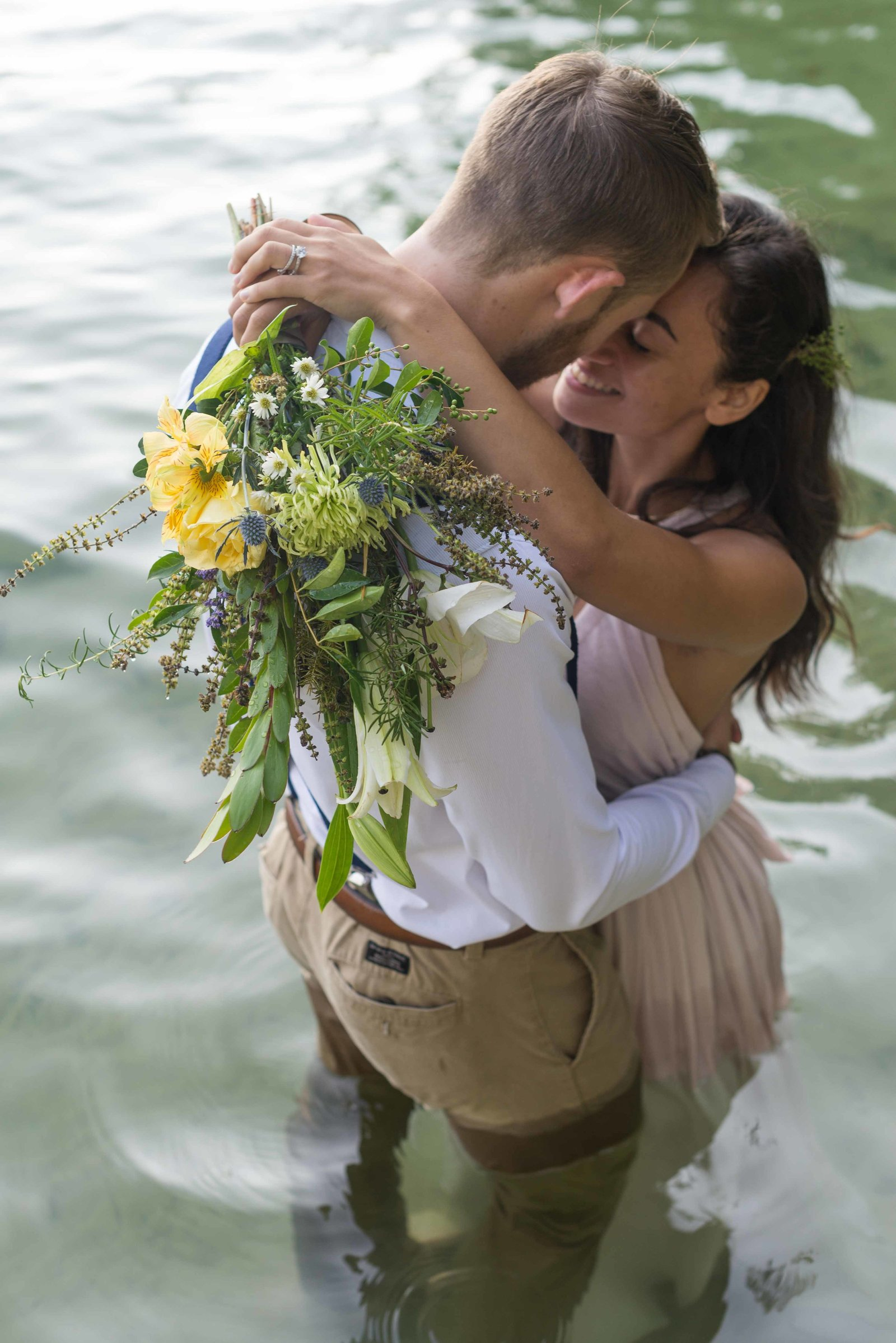 Lake Jocasse Adventure Wedding Photographer