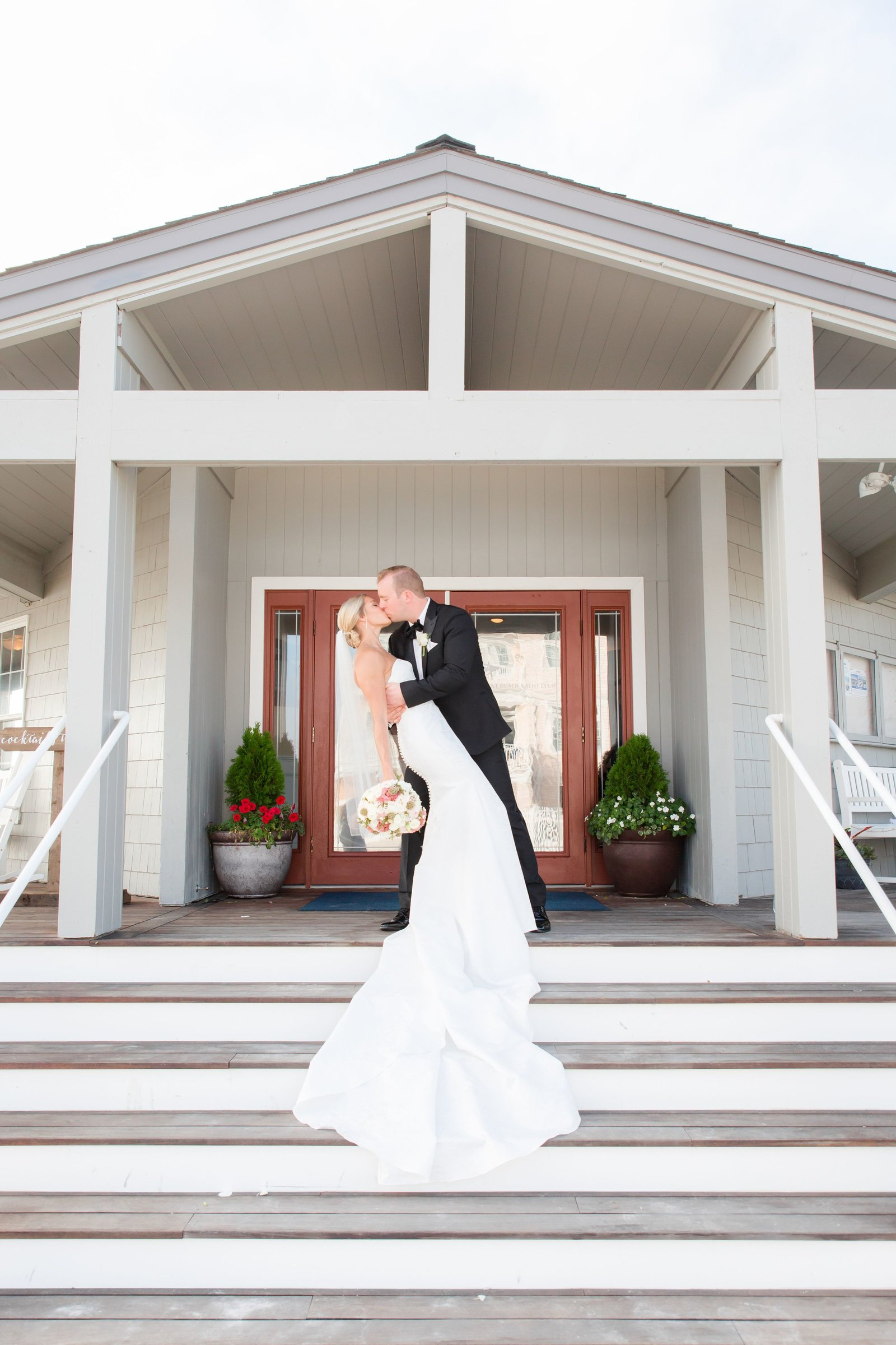 wedding at Brant Beach Yacht Club