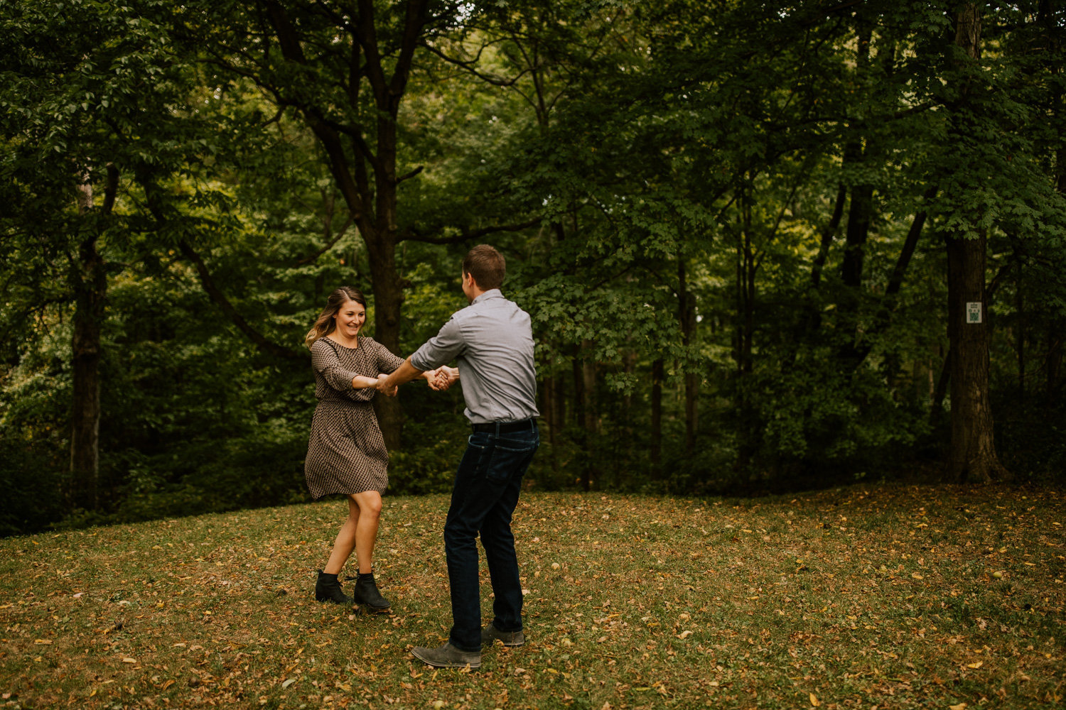 Vibrant-giggly-engagement-session-holliday-park-8