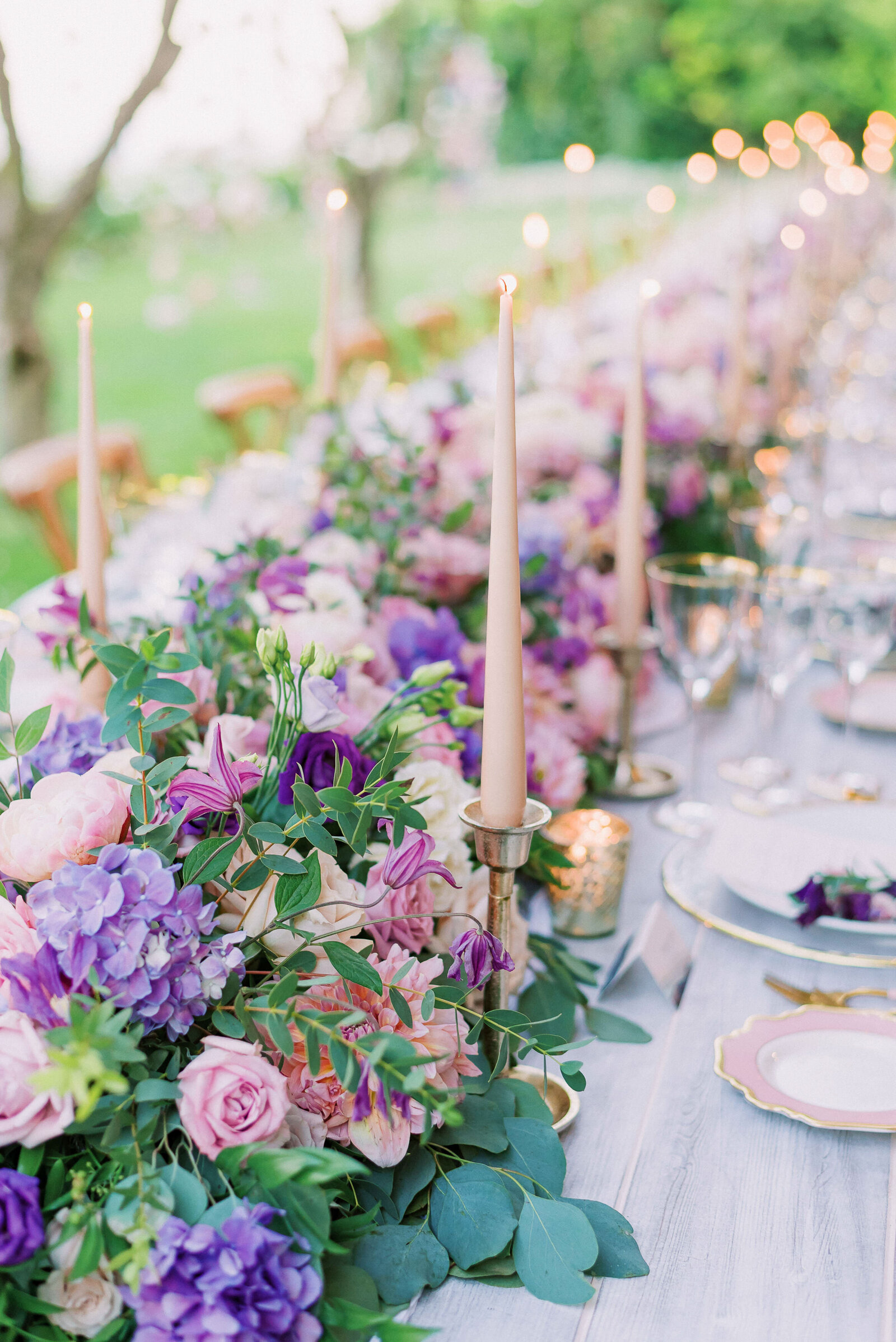 ideas for wedding reception decoration