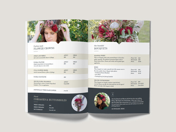 ebook design for florist