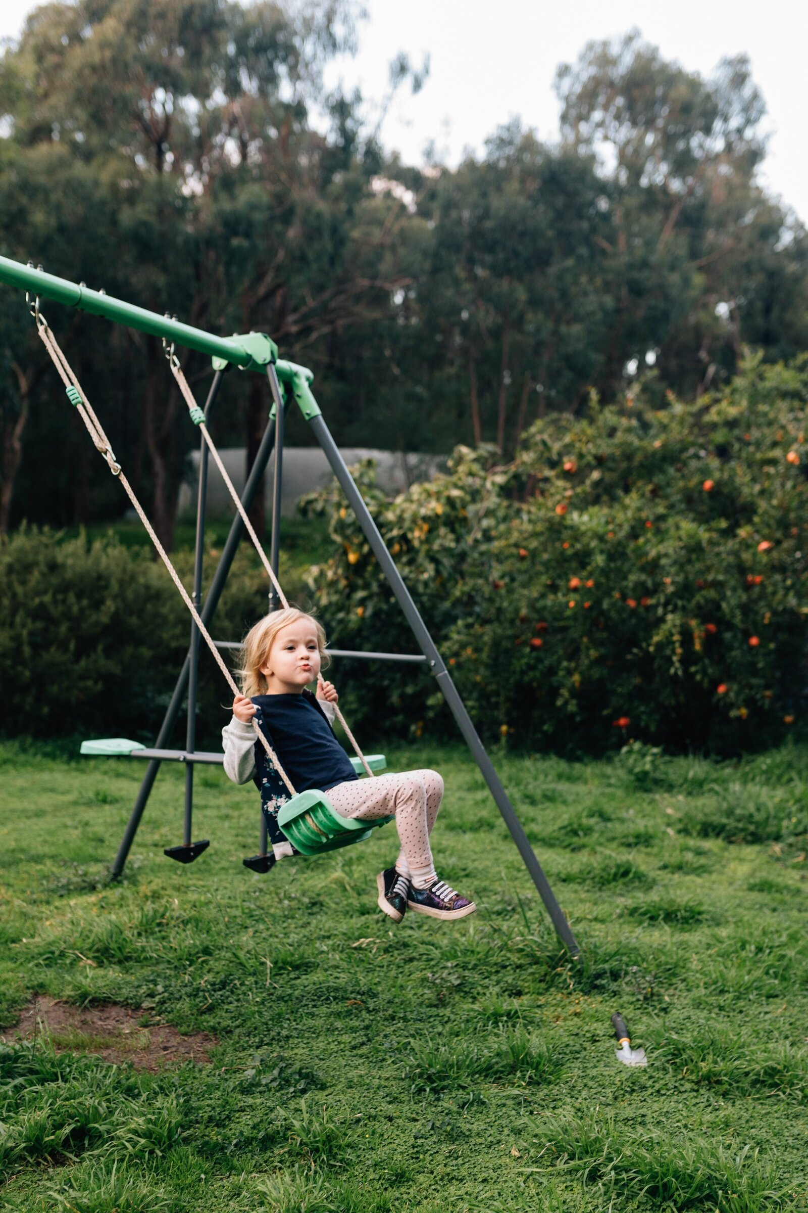 on swing Day in the life photography family documentary photography Melbourne And So I Don't Forget