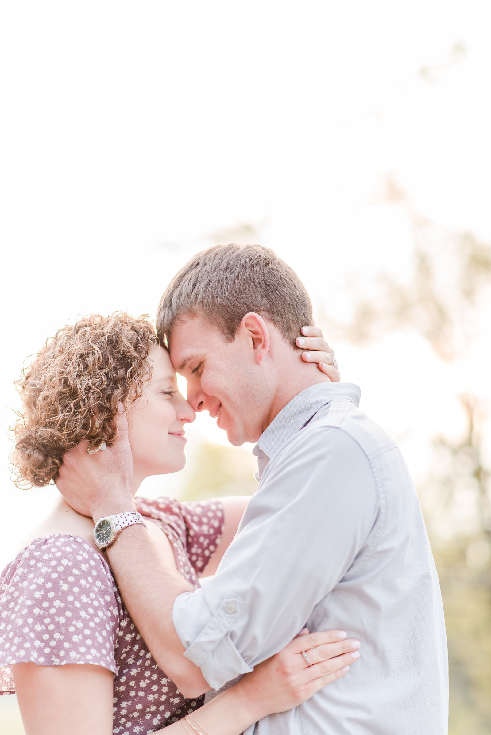 Brown County State Park summer engagement session