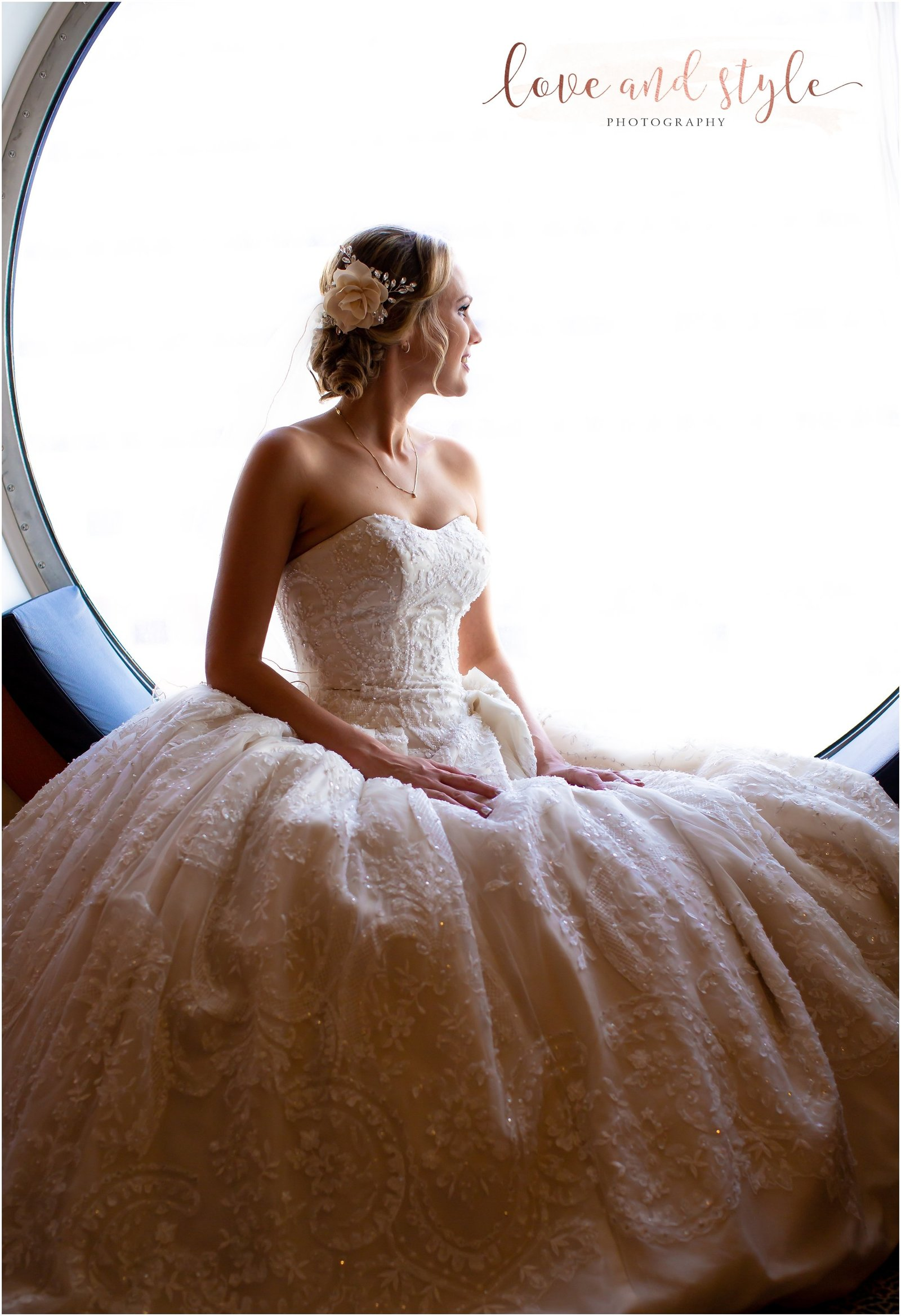 Disney Dream Cruise Wedding Photography bridal portrait