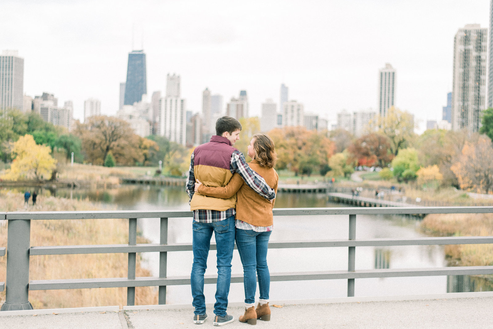 chicago engagement pictures - destination wedding photographer-9