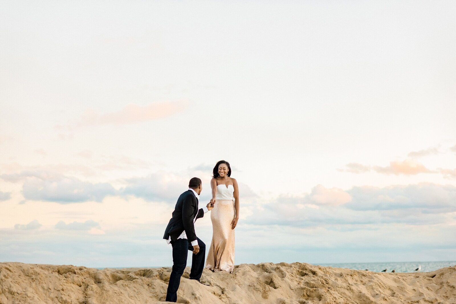 Glamis Sand Dunes Engagement Session