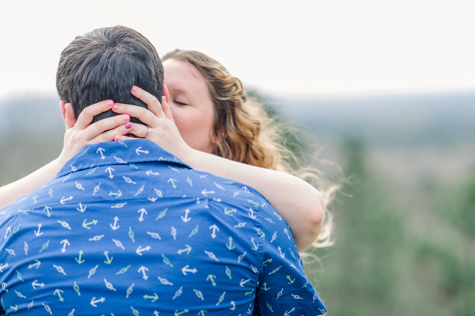 Pine Mountain Engagement Session Georgia Adventure-20