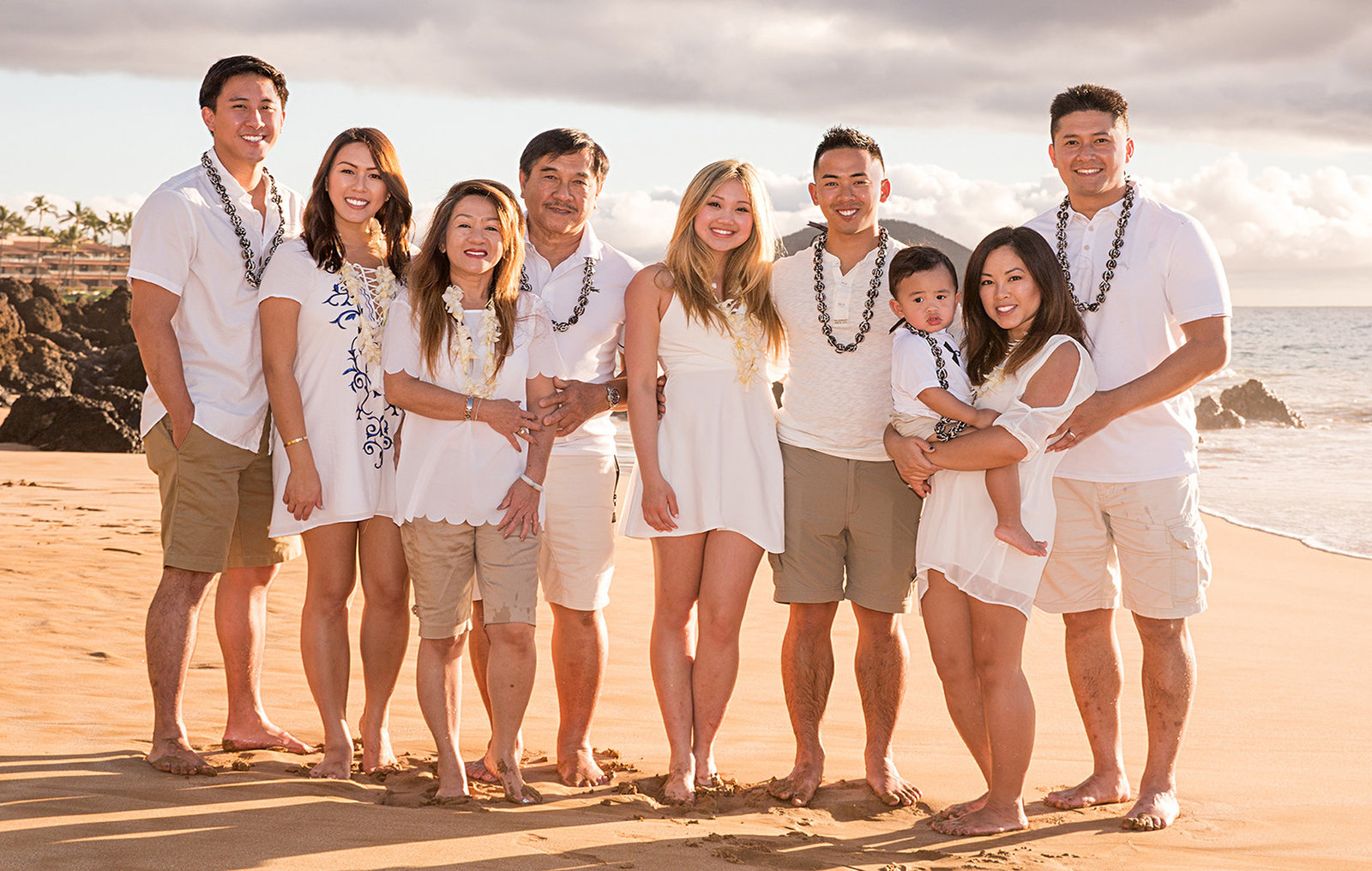 Family photographers on Maui