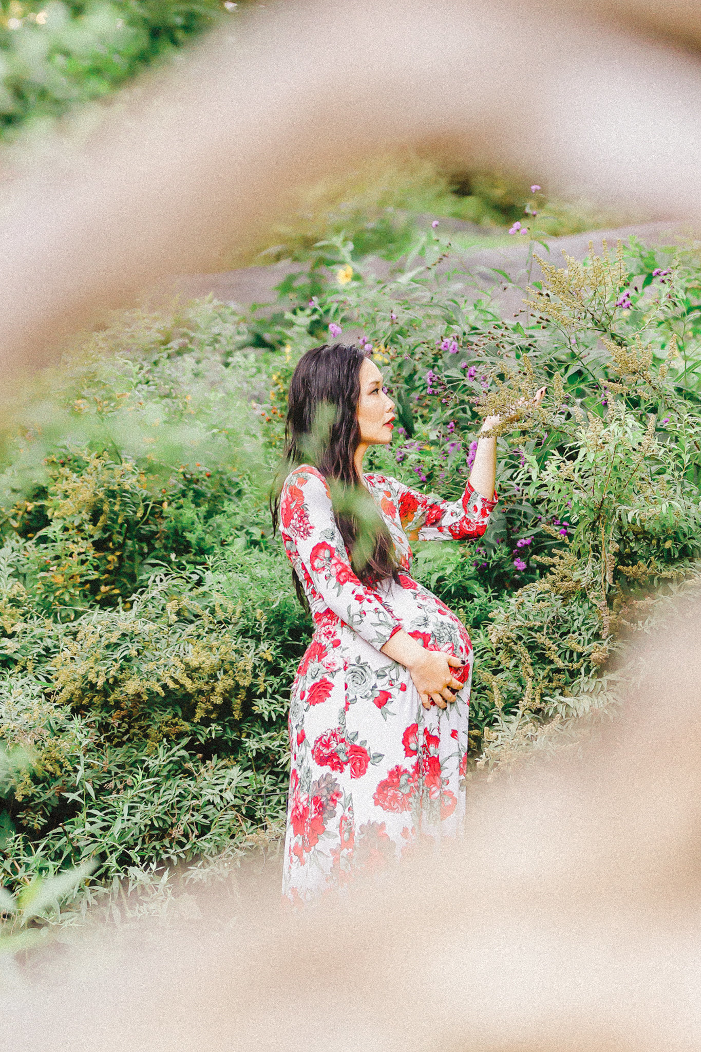 DRS - maternity - framed maternity session