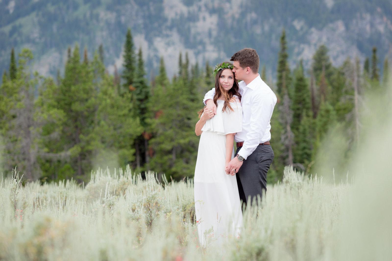 Jackson Hole Engagement session