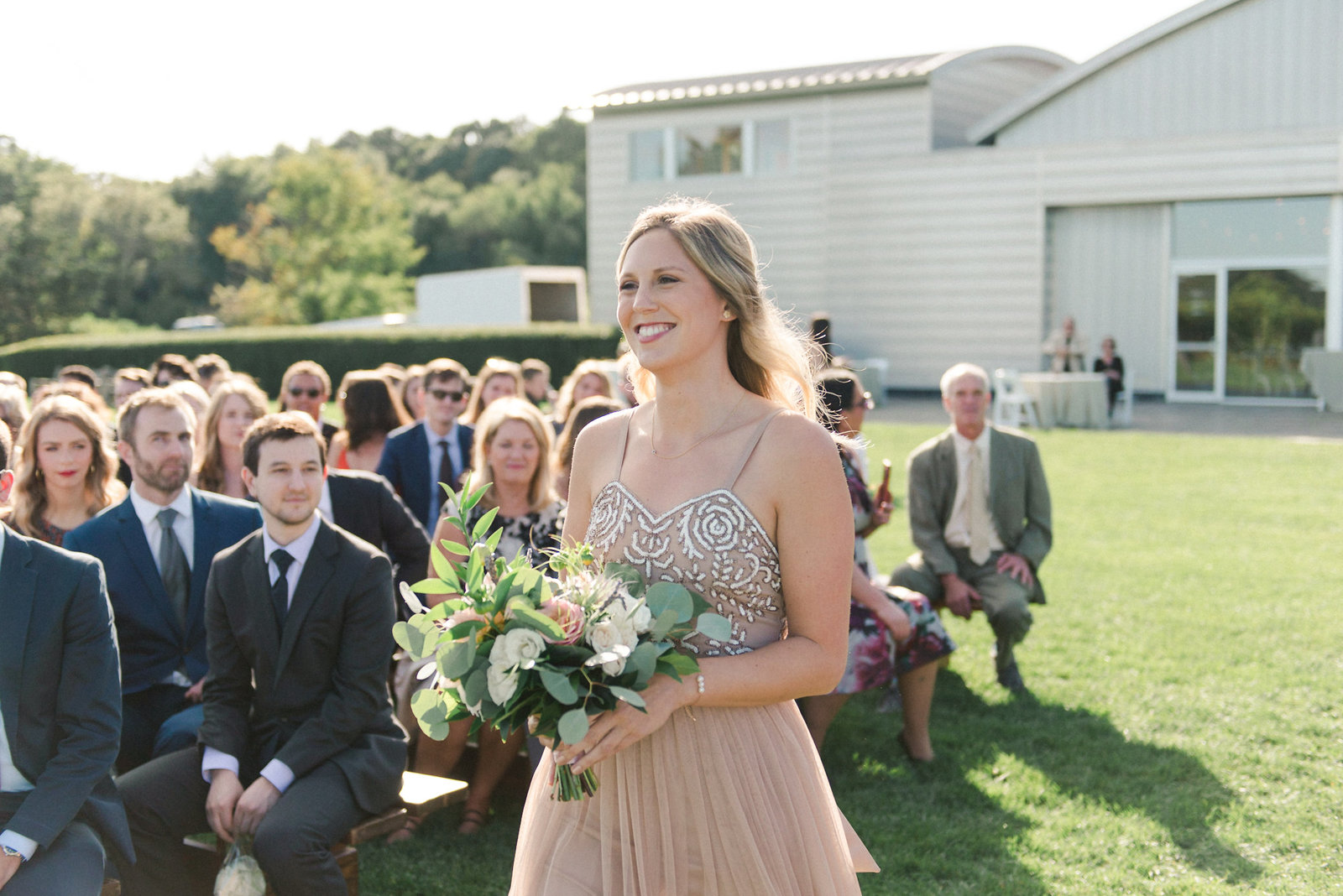 Saltwater Farm Vineyard Wedding Outdoor Ceremony_4