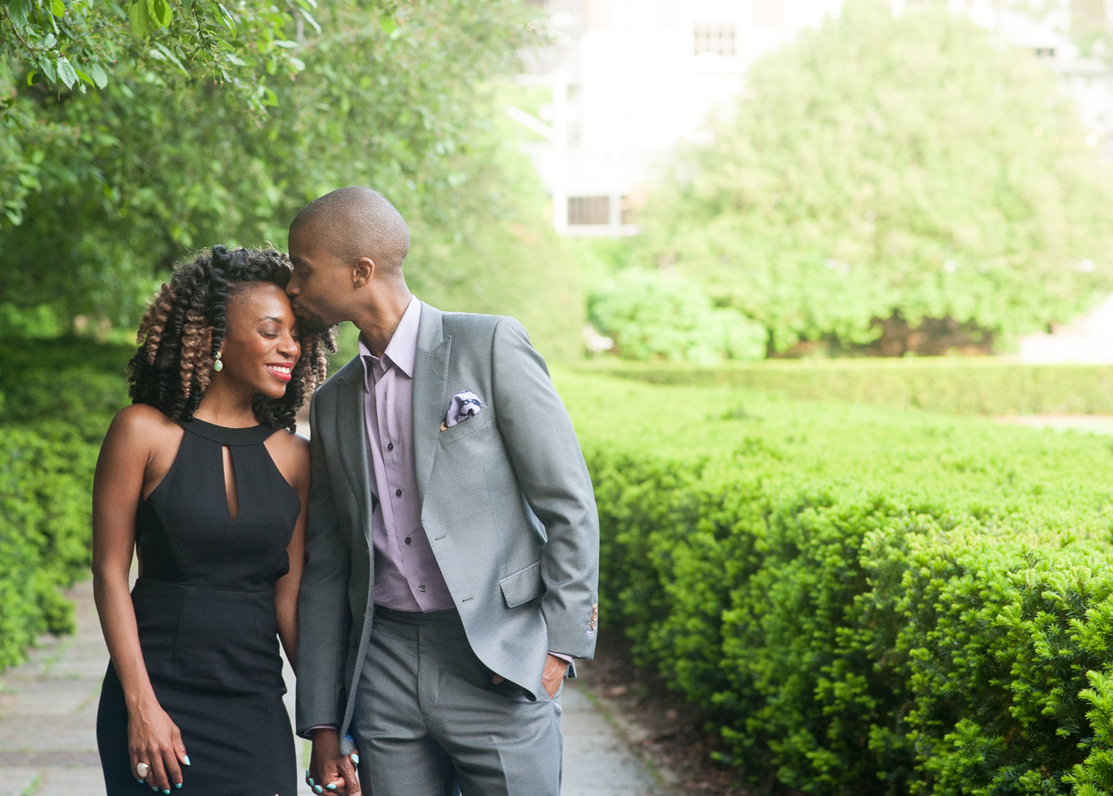 Tam_Jonathan | Conservatory Gardens, New York Engagement Session | Sachel Samone Photography-79