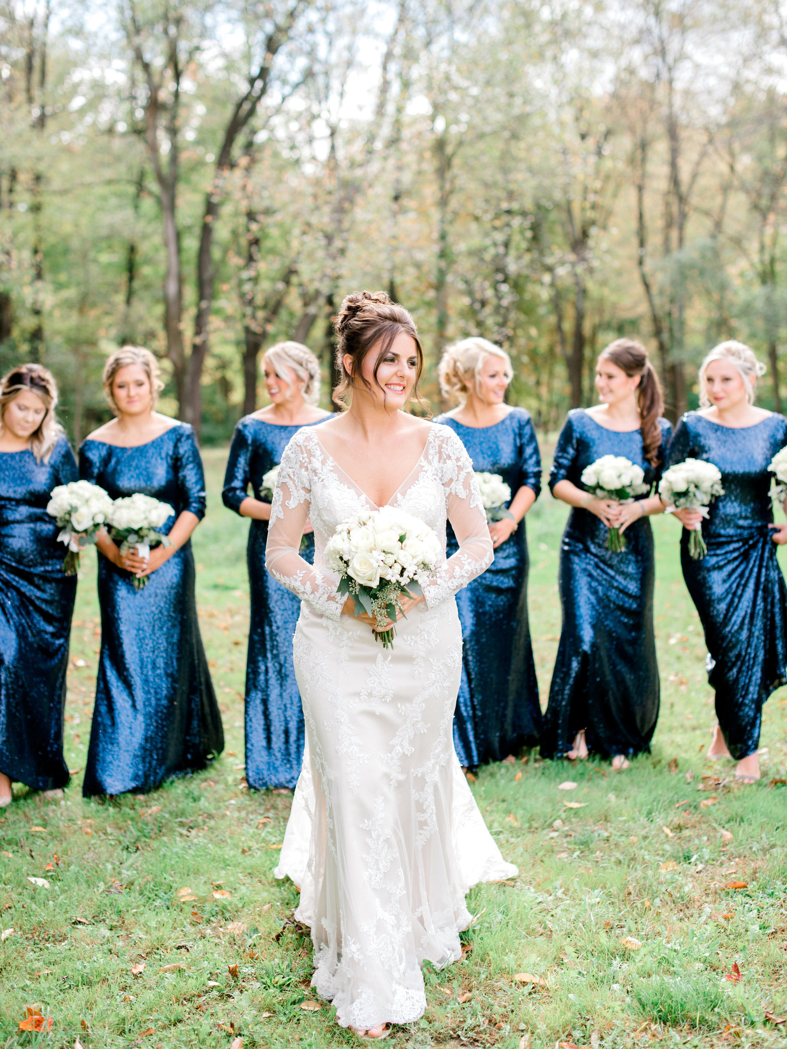 Chautauqua Institution Bride Fall Wedding