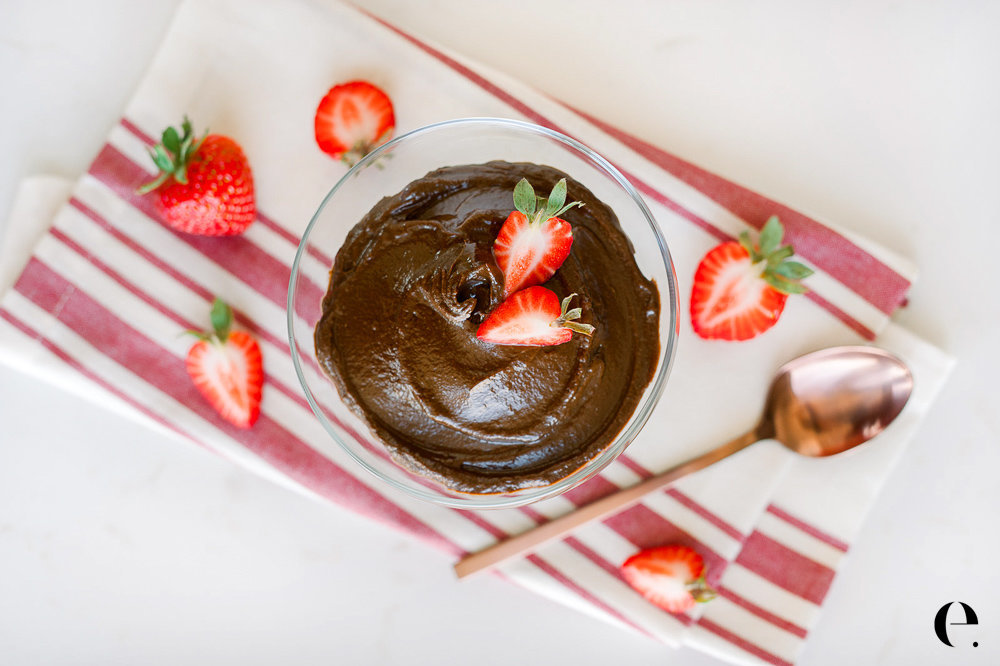 Elizabeth Rider No-Bake Extra-Chocolatey Chocolate Avocado Mousse blog