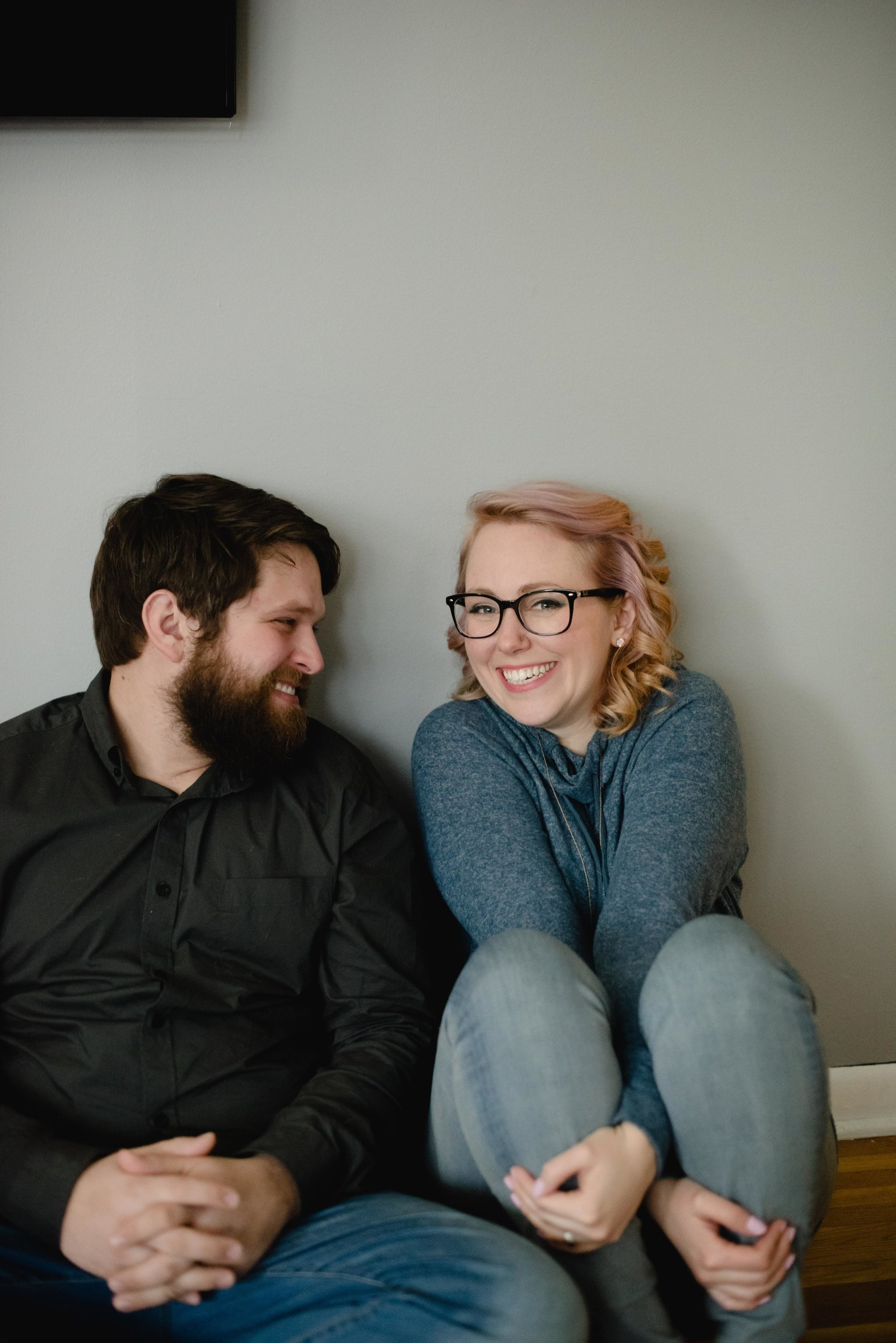 Quirky Couples Session at home