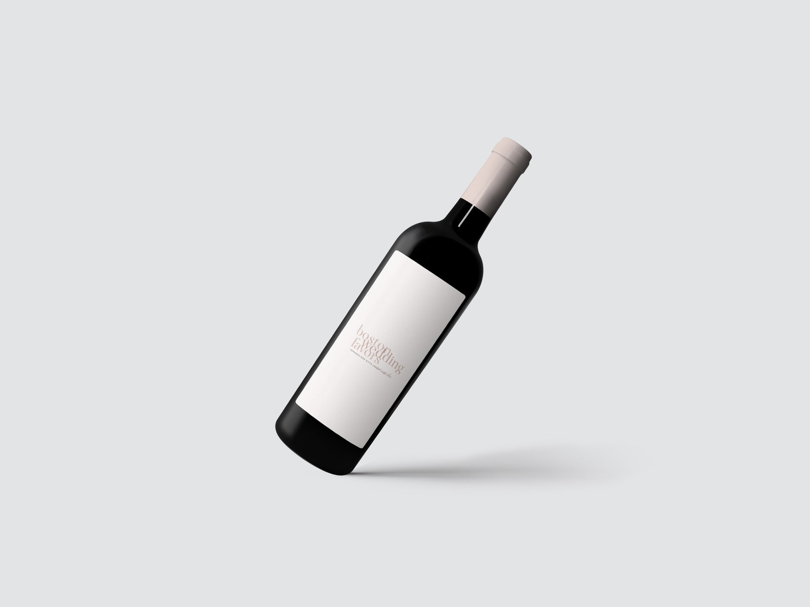 Wine Bottle Mockup 3