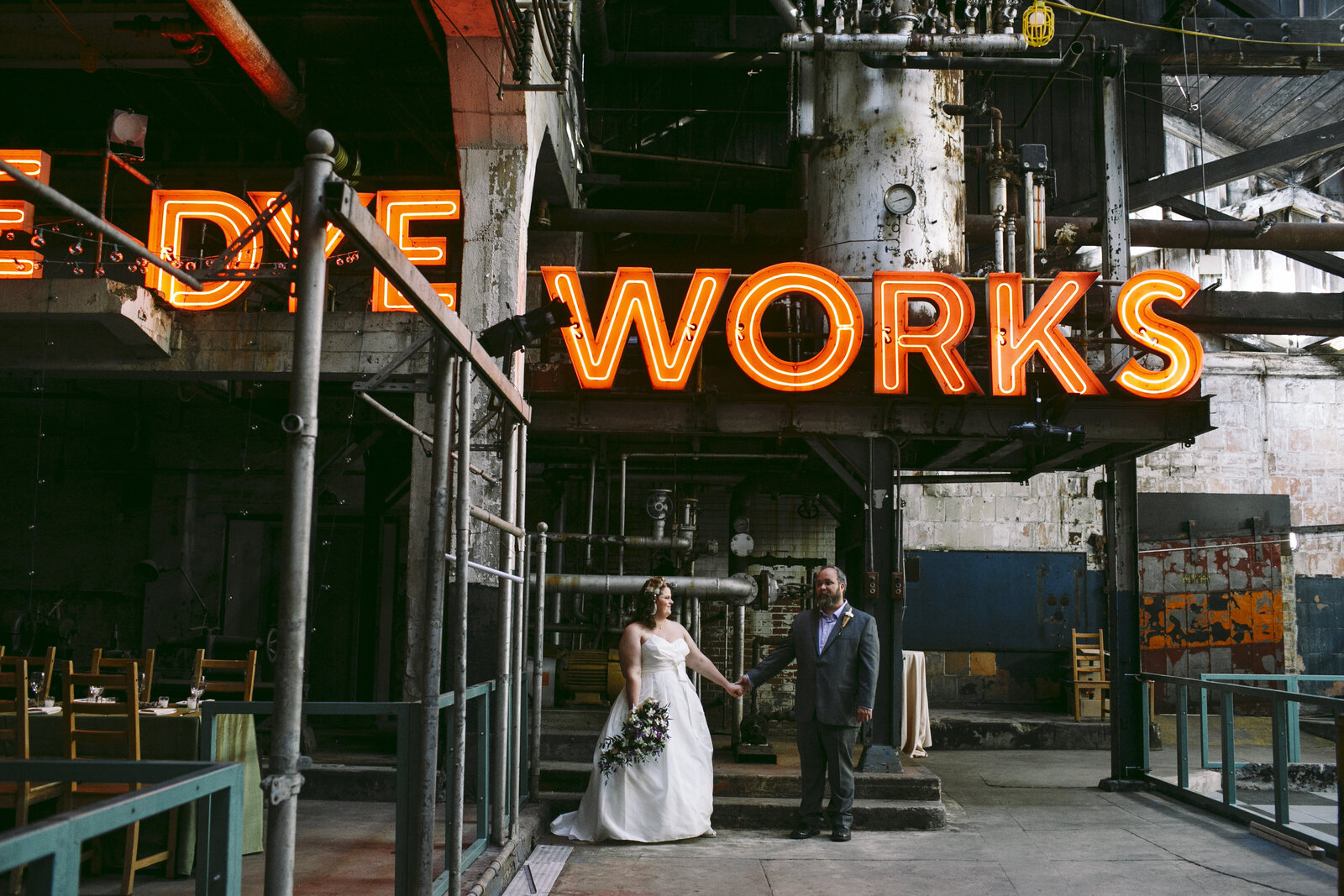 wedding globe dye works