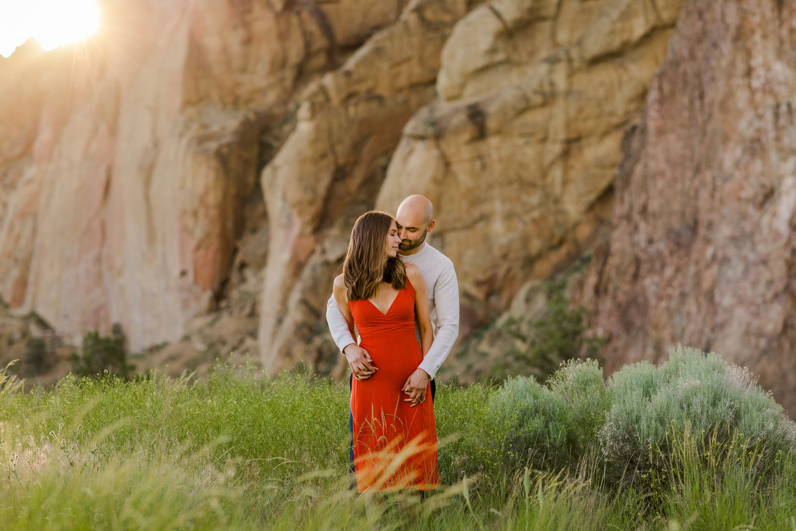 Smith Rock Engagement Session - Bend Oregon-80