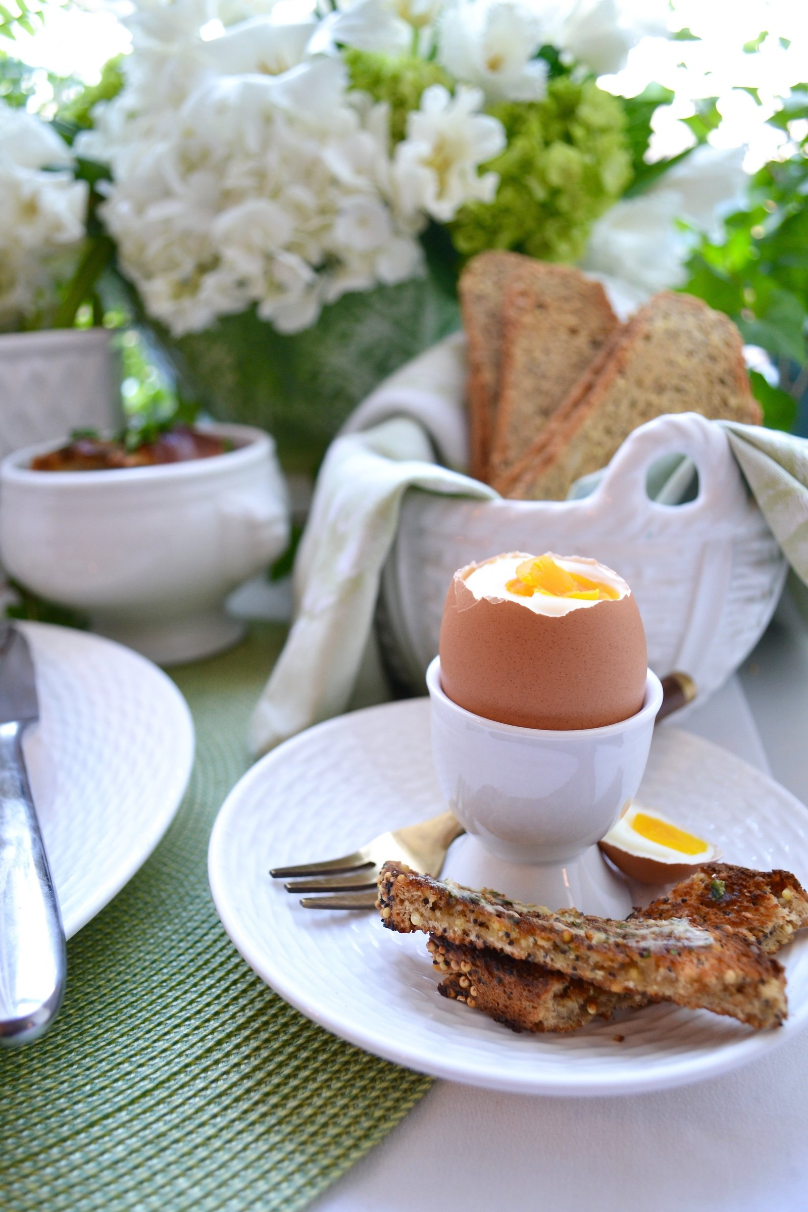 Soft Boiled Egg Brunch