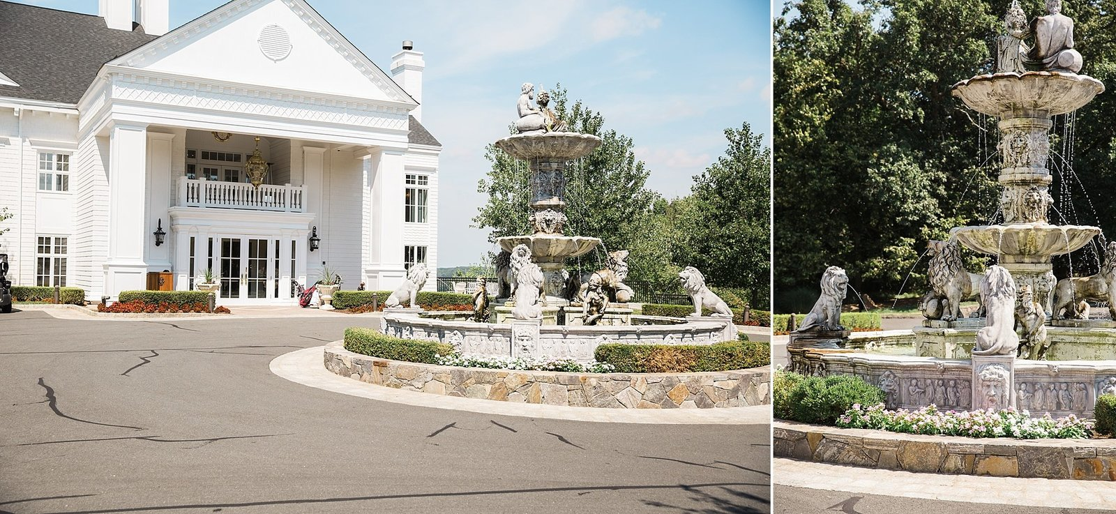 M Harris Studios_Trump National Golf Club Wedding_fountain