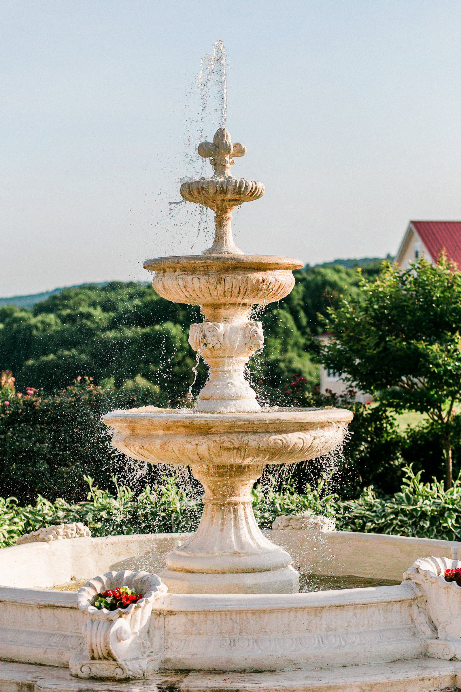 Fountain at Springfield Manor Maryland