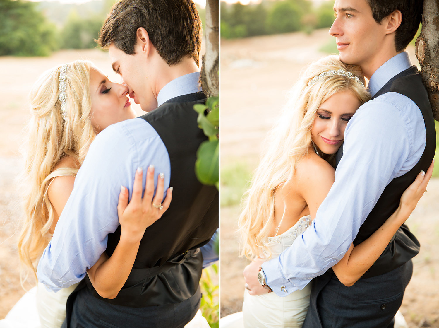 Creative posing ideas for brides and grooms