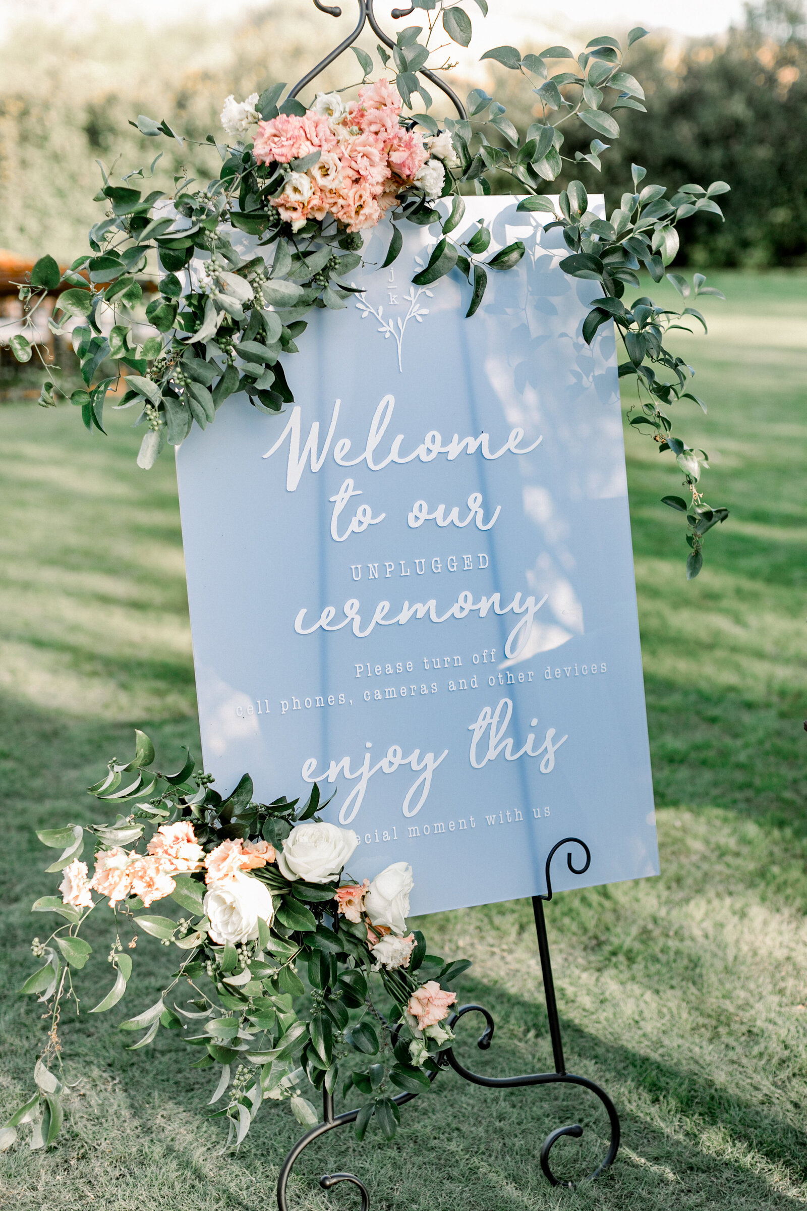 scottsdale-florists-wedding-welcome-sign