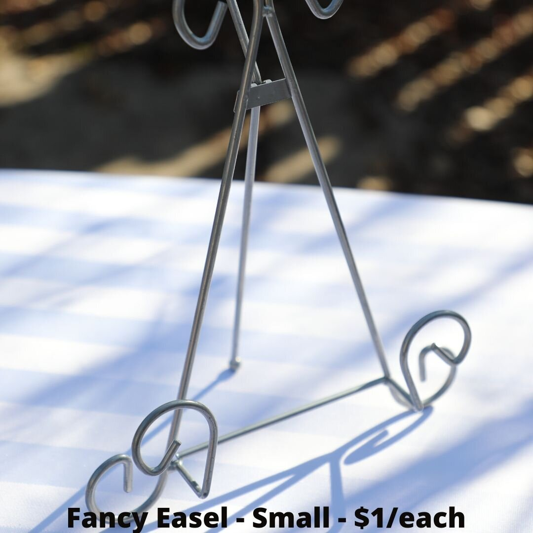 fancy easel small
