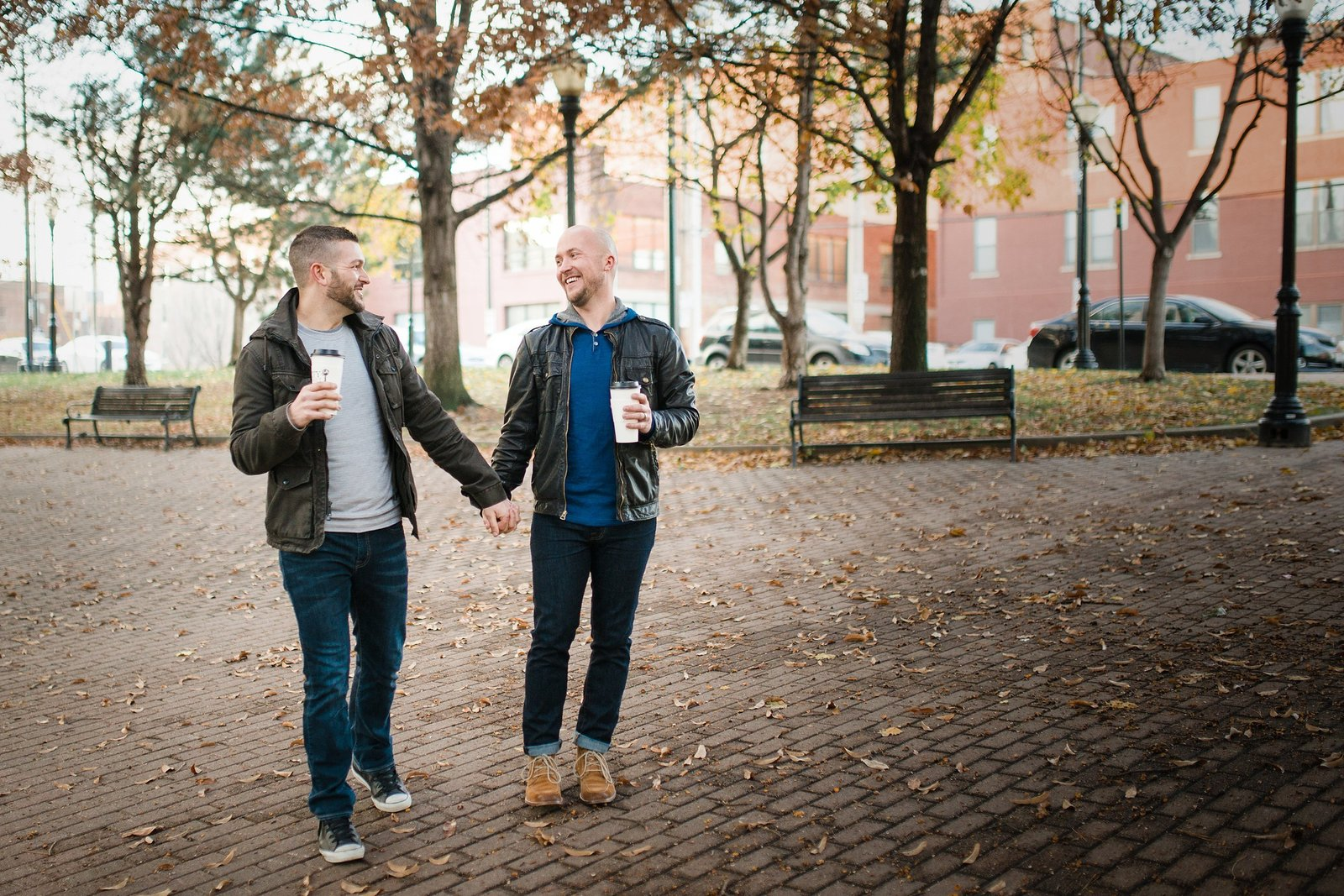 LGBTQ friendly engagement photographer. LGBTQ friendly wedding photographer.  Same sex wedding photos. Same sex engagement photos. KC same sex engagement photos