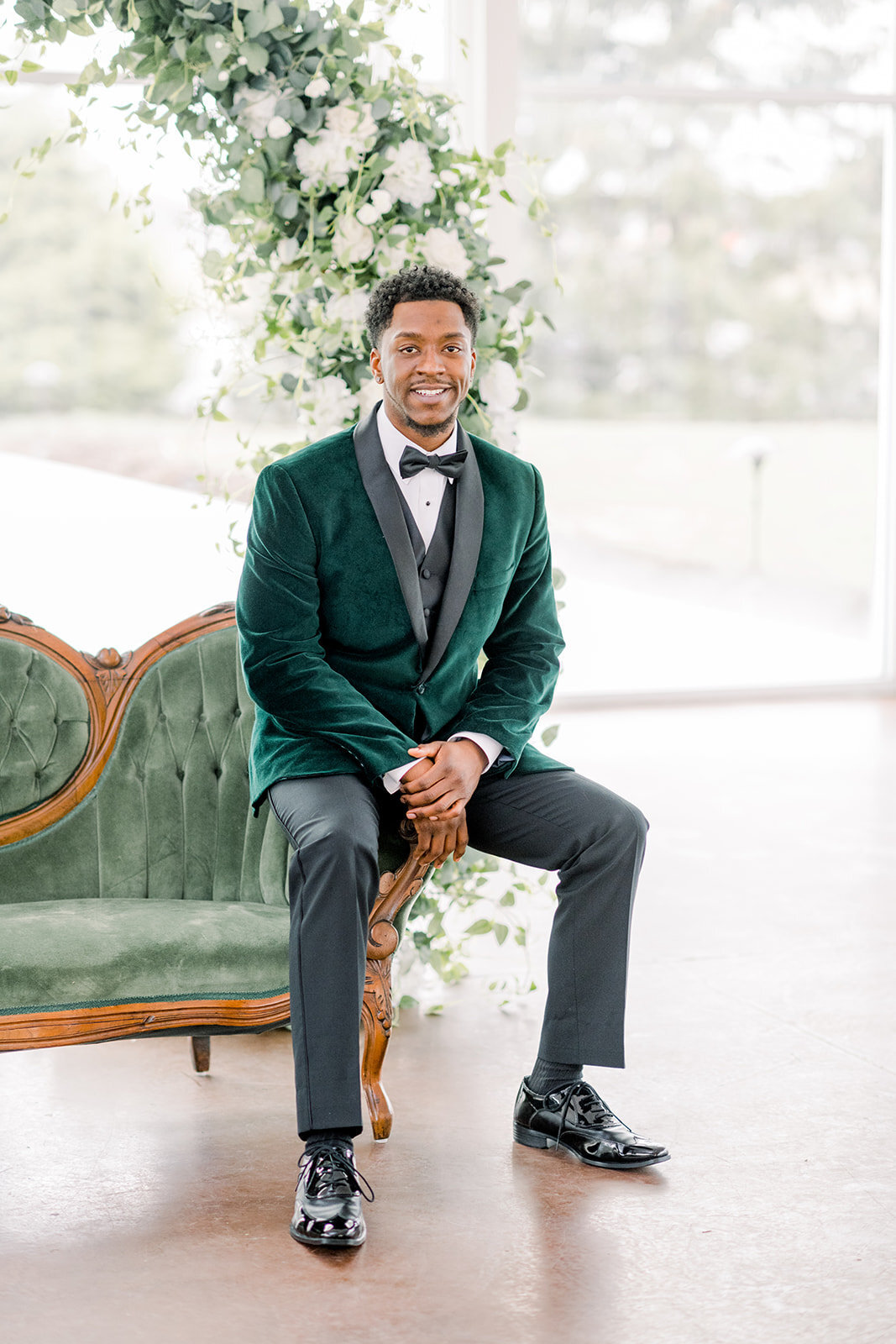 Ritz Charles Emerald Styled Shoot 2020 - Alison Mae Photography - Indianapolis Wedding Photographer-198