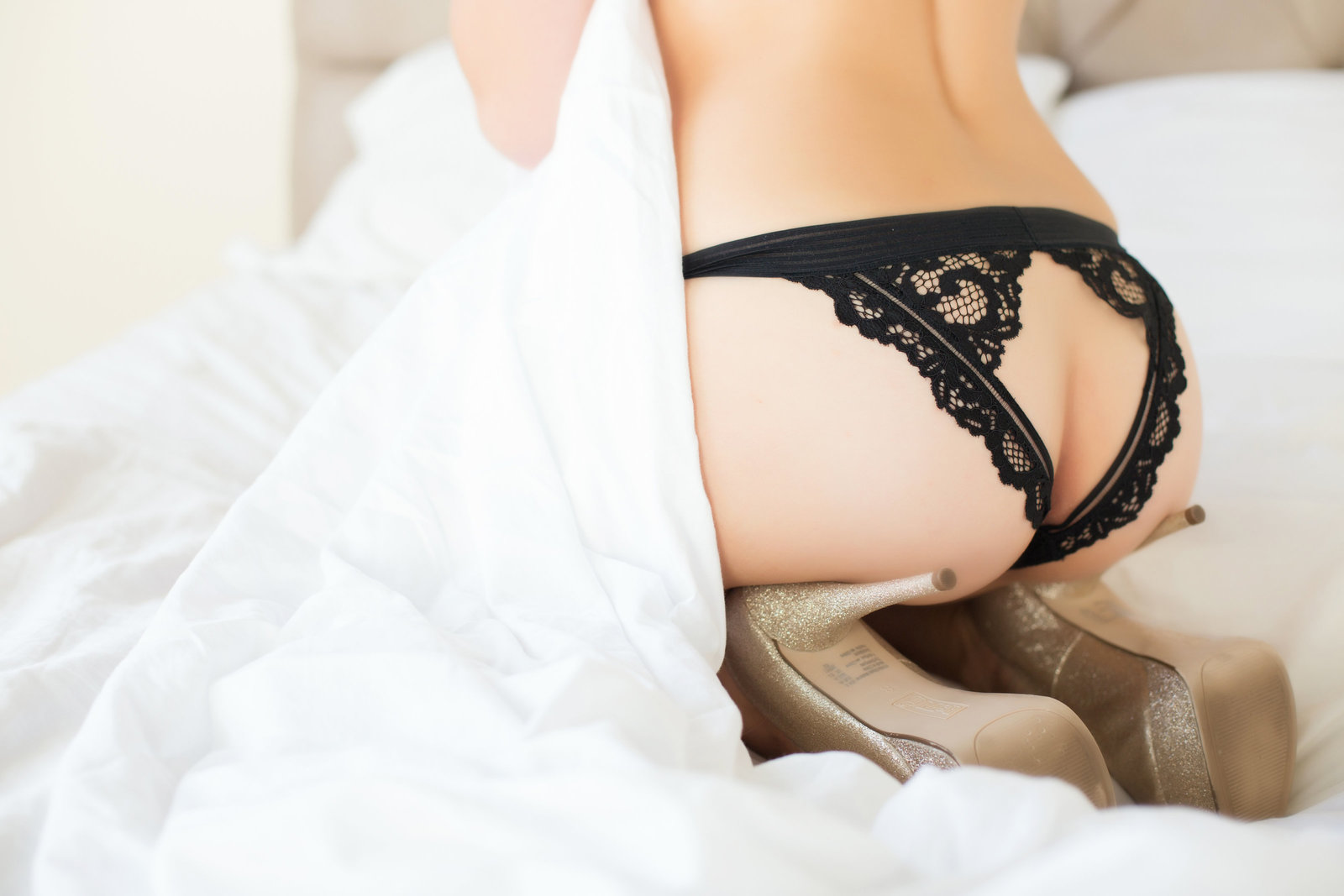black lace panty photo, sexy boudoir scottsdale