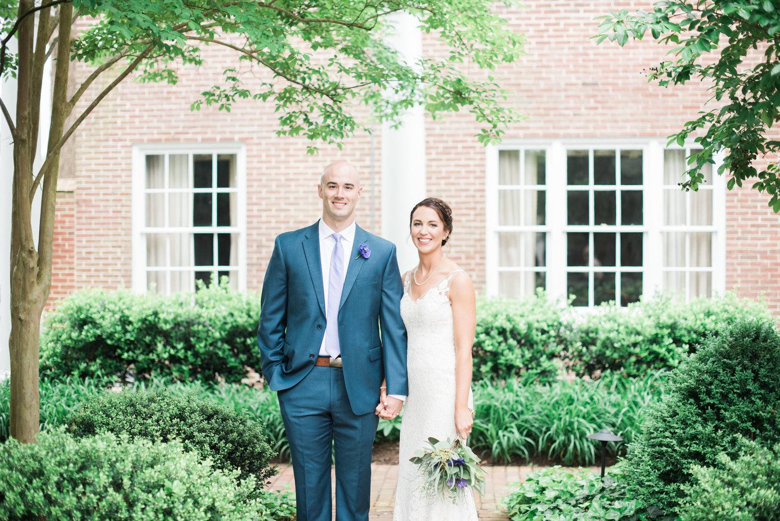 Tidewater Inn Wedding Portraits