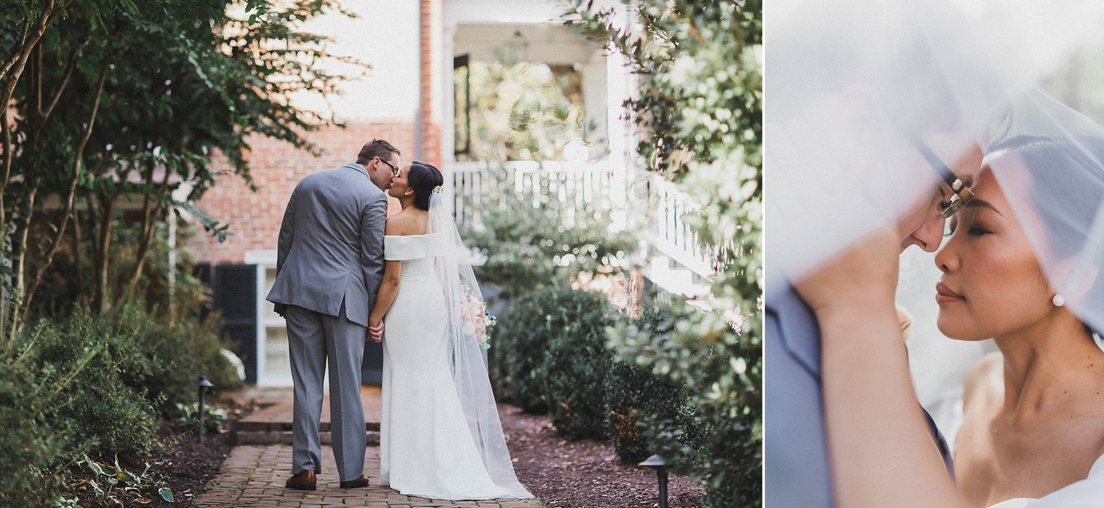 M Harris Studios_Braehead Manor_VA Wedding Photographer_bride groom manor portraits