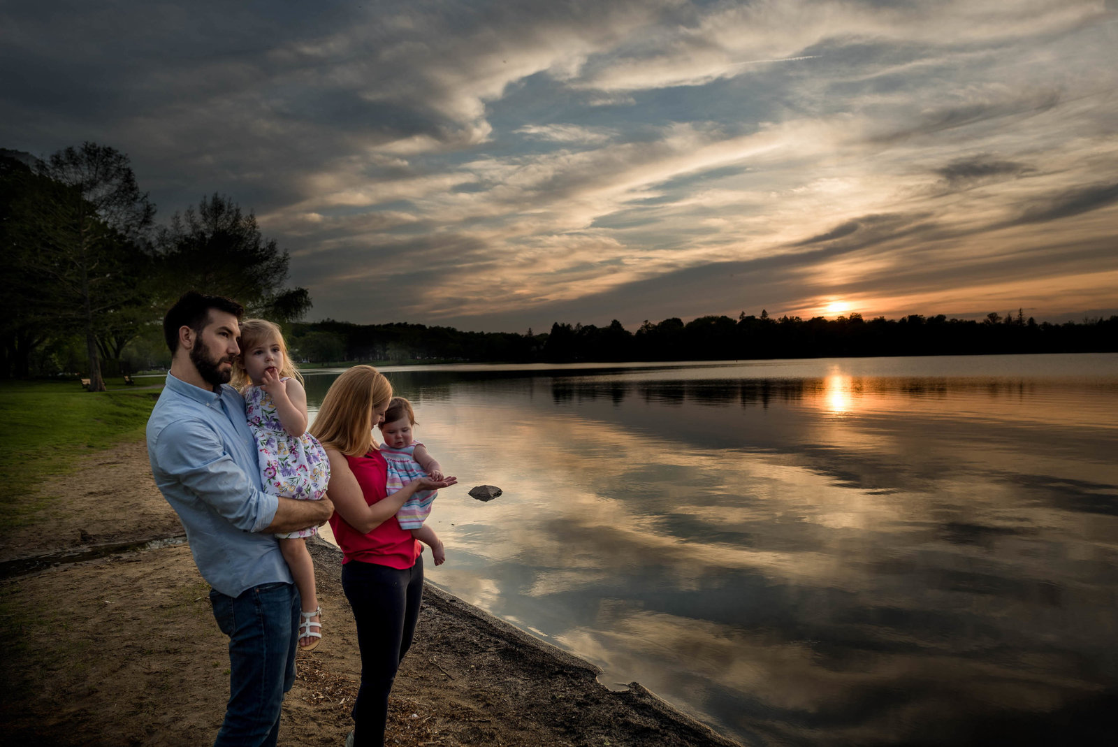 Boston-Family-Photographer-Sunset-Lake-Session-10