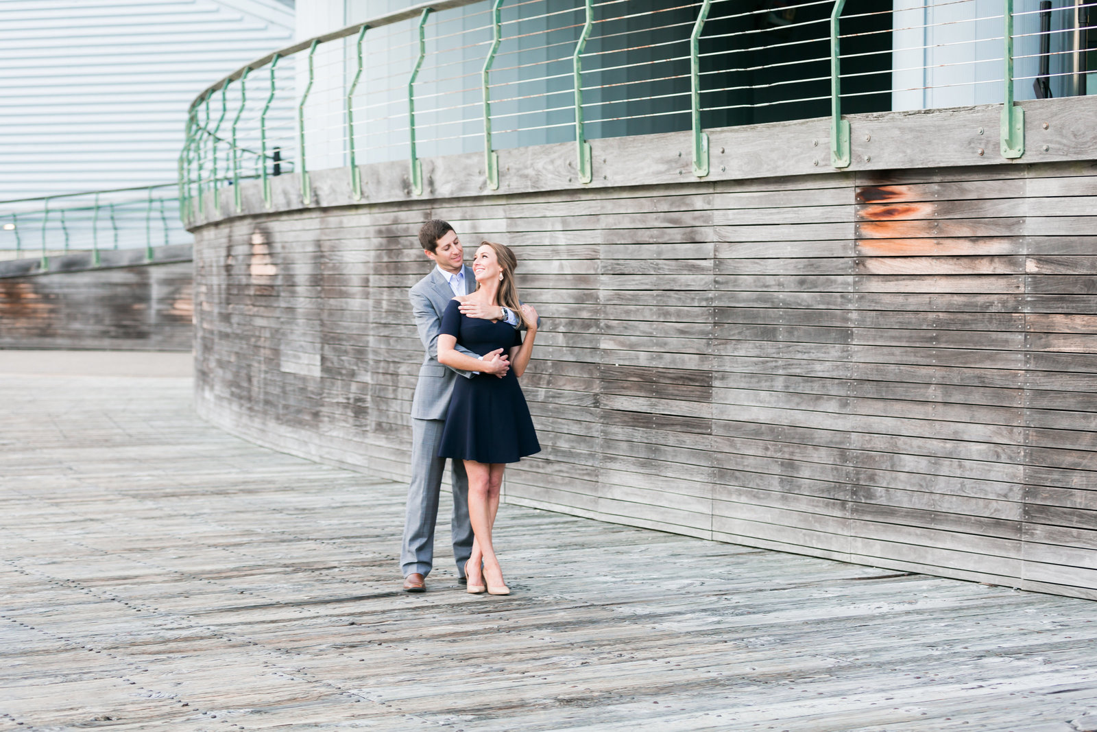 Downtown Norfolk Classic Engagement Session by Elizabeth Friske Photography-19